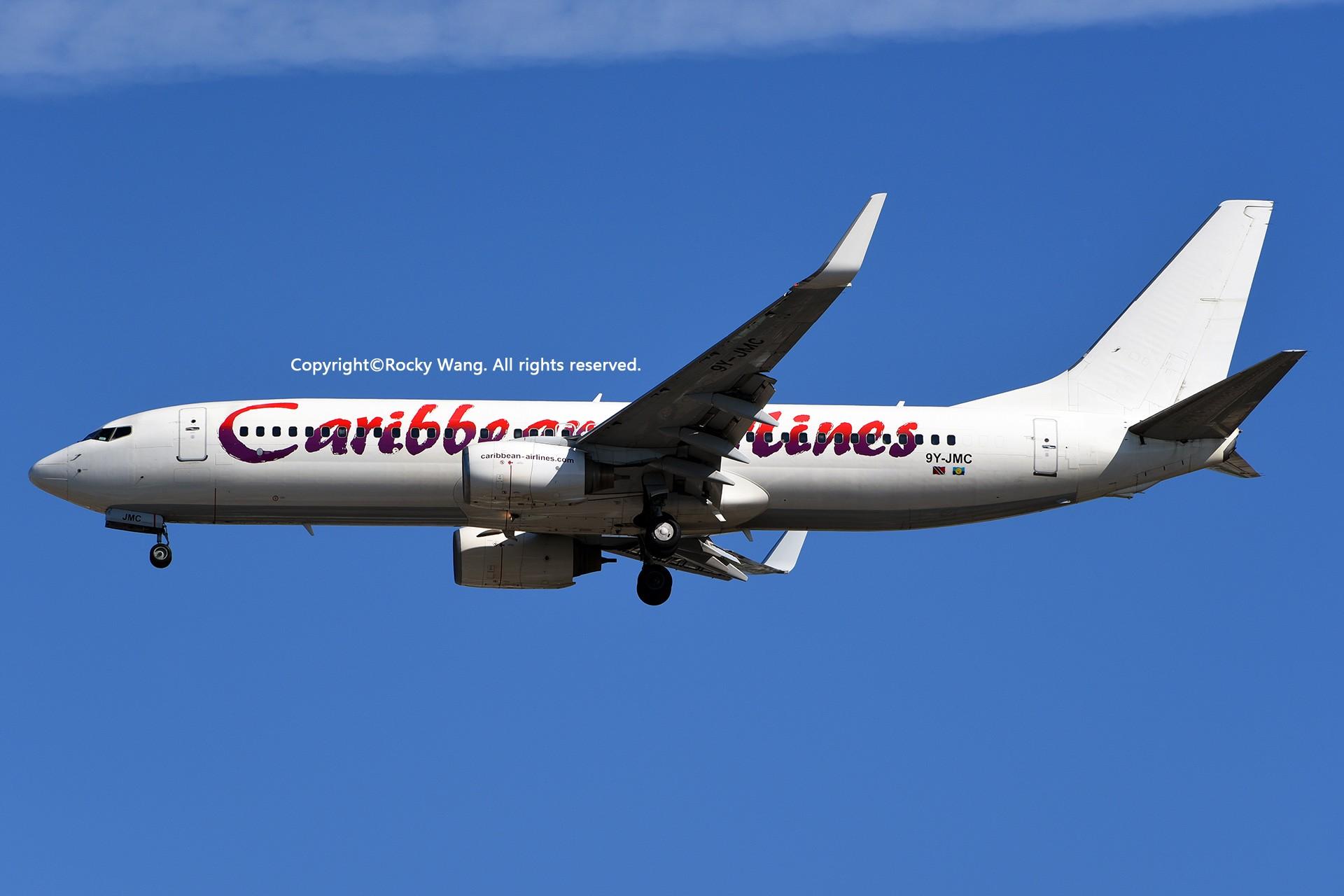 Re:[原创]KMIA 30图 BOEING 737-8Q8 9Y-JMC Miami Int'l Airport