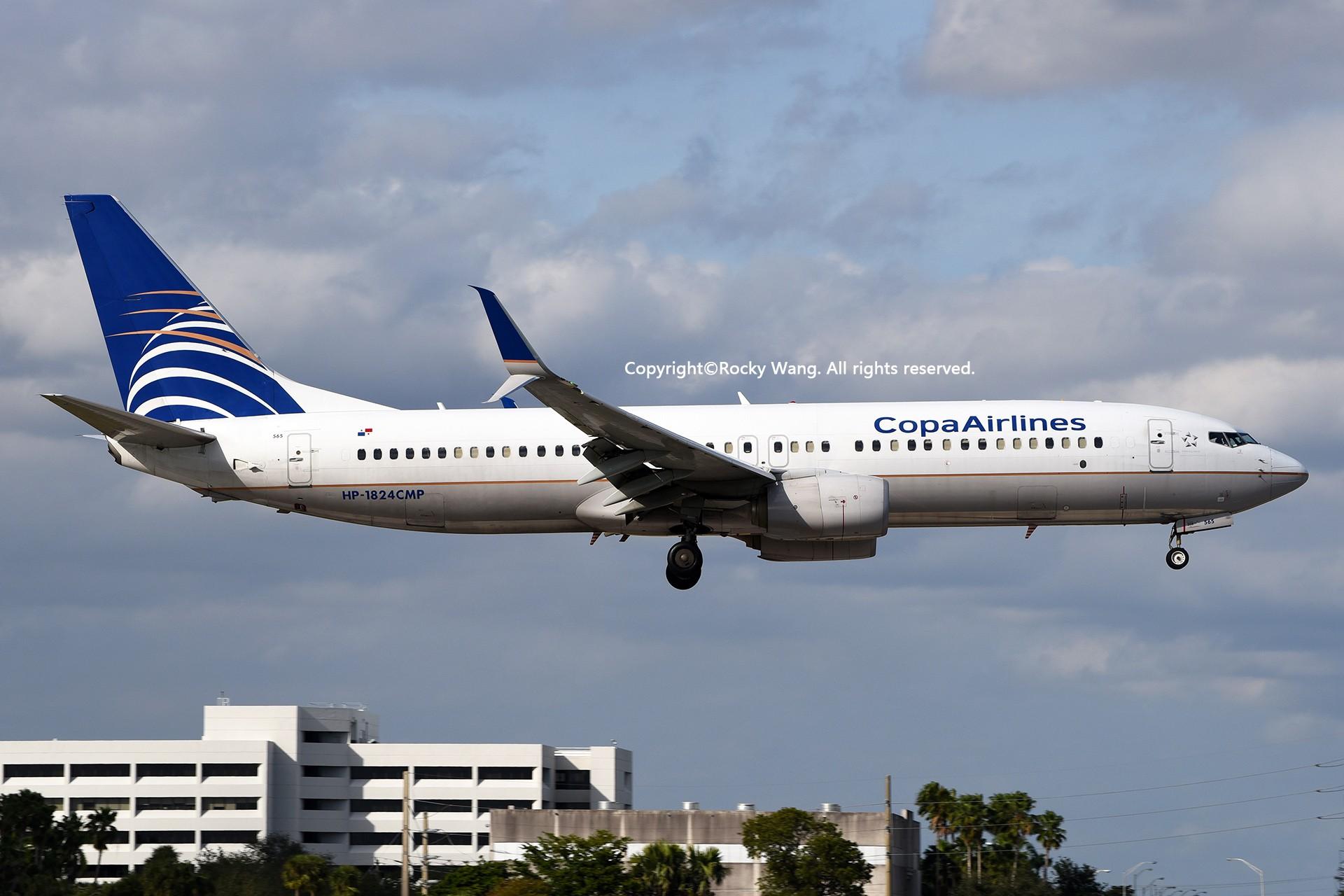 Re:[原创]KMIA 30图 BOEING 737-86N HP-1824CMP Miami Int'l Airport