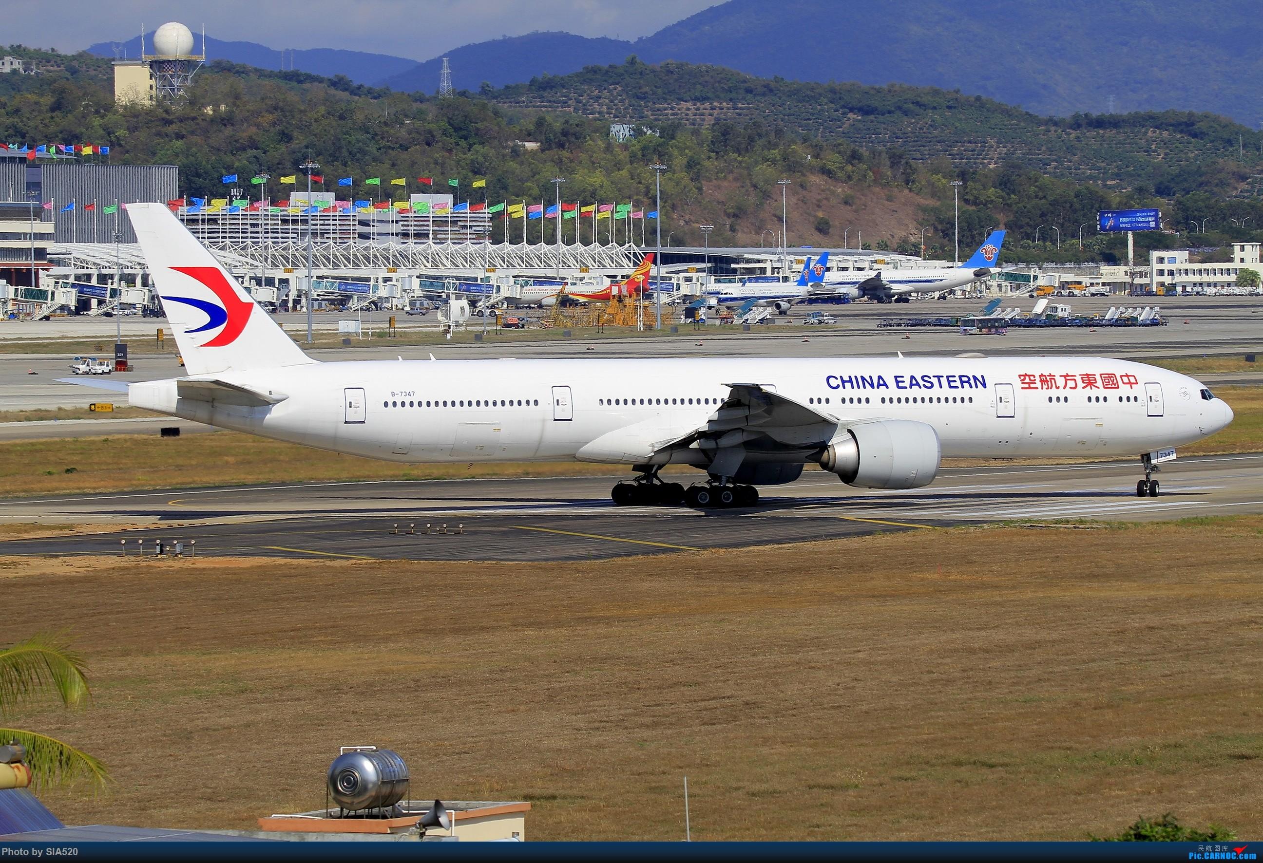 Re:[原创]北京人儿在三亚—600mm解锁凤凰 BOEING 777-300ER B-7347 中国三亚凤凰国际机场
