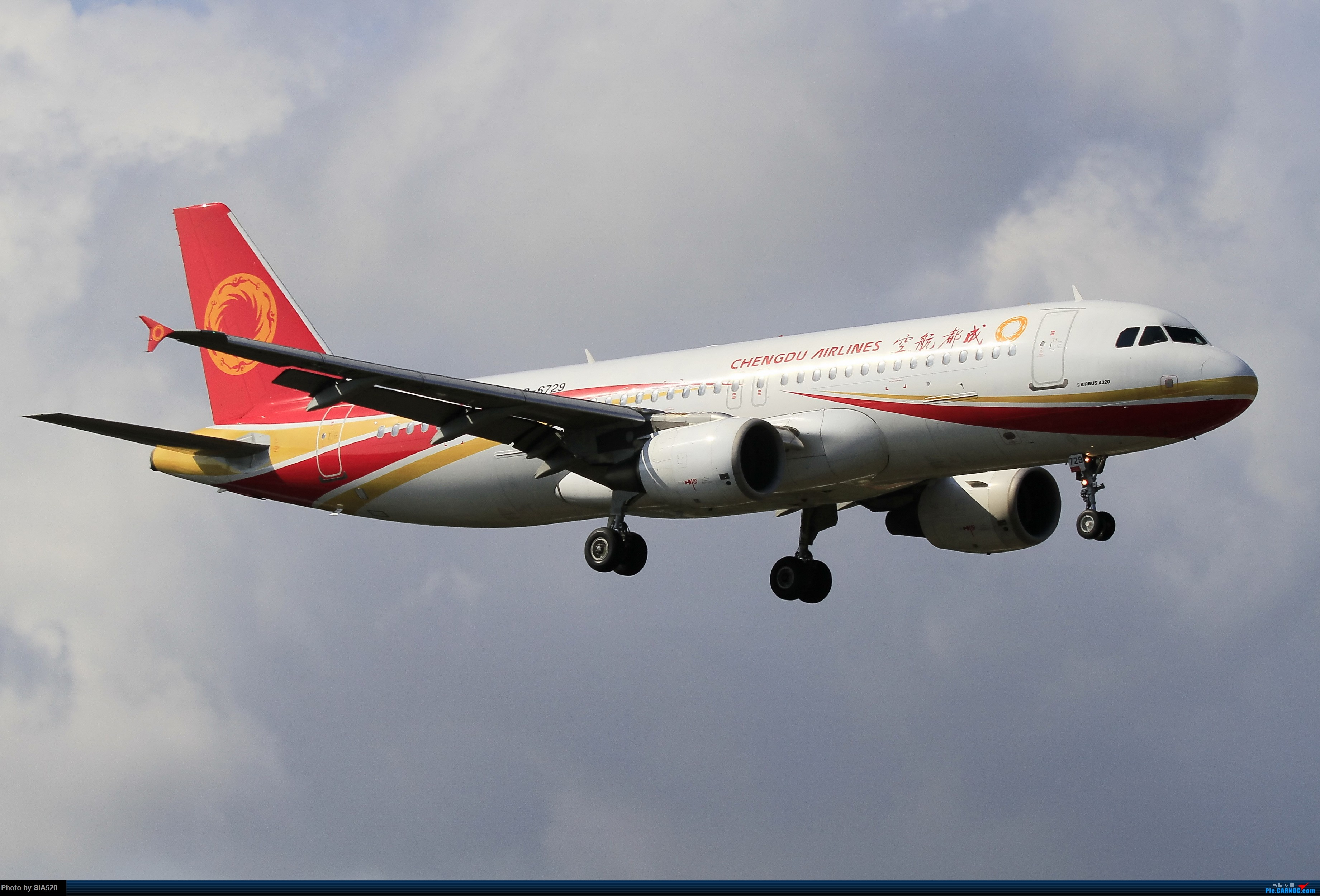 Re:[原创]北京人儿在三亚—600mm解锁凤凰 AIRBUS A320-200 B-6729 中国三亚凤凰国际机场