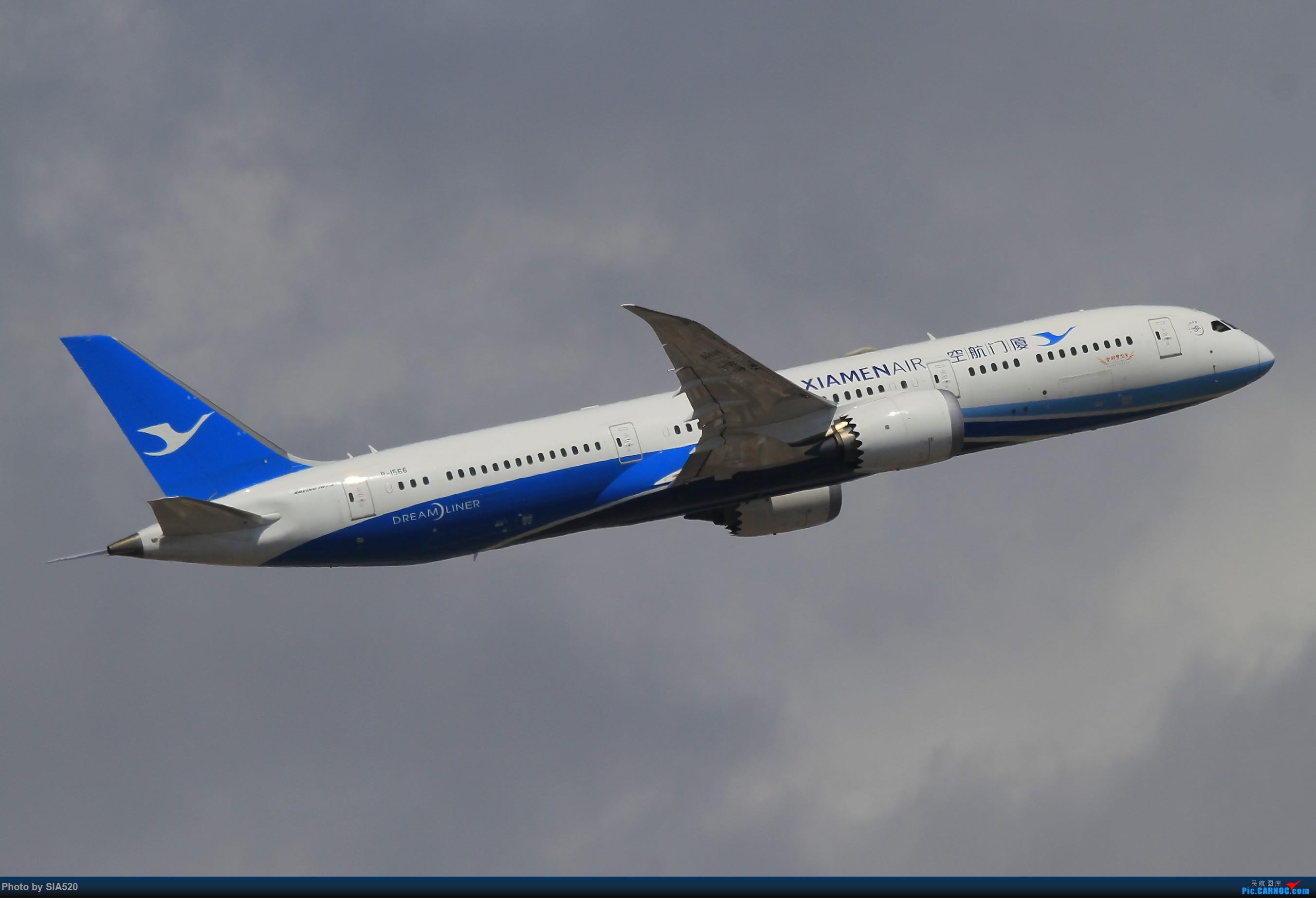 Re:[原创]北京人儿在三亚—600mm解锁凤凰 BOEING 787-9 B-1566 中国三亚凤凰国际机场