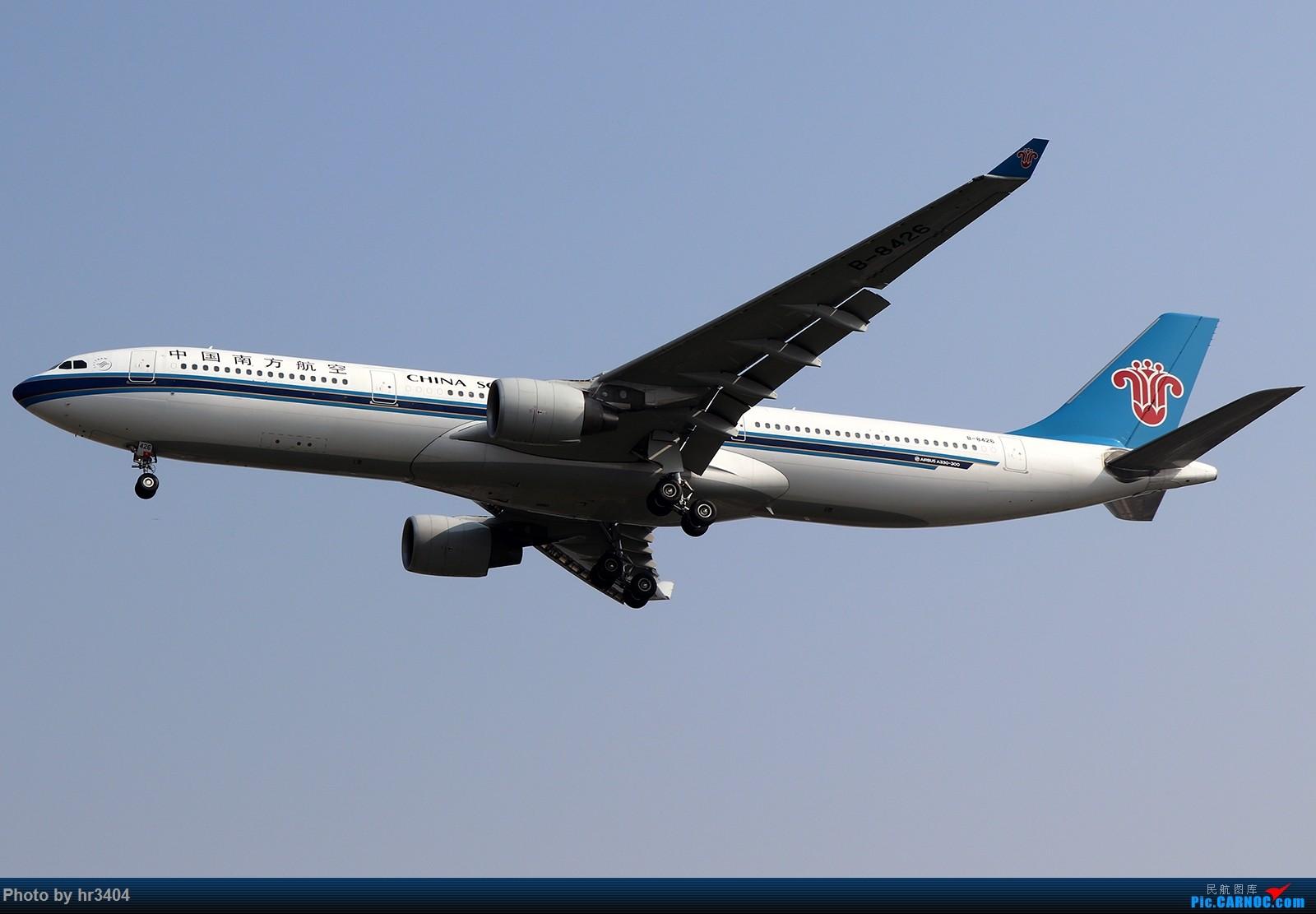 [原创]寒假ZGGG拍机 AIRBUS A330-300 B-8426 中国广州白云国际机场