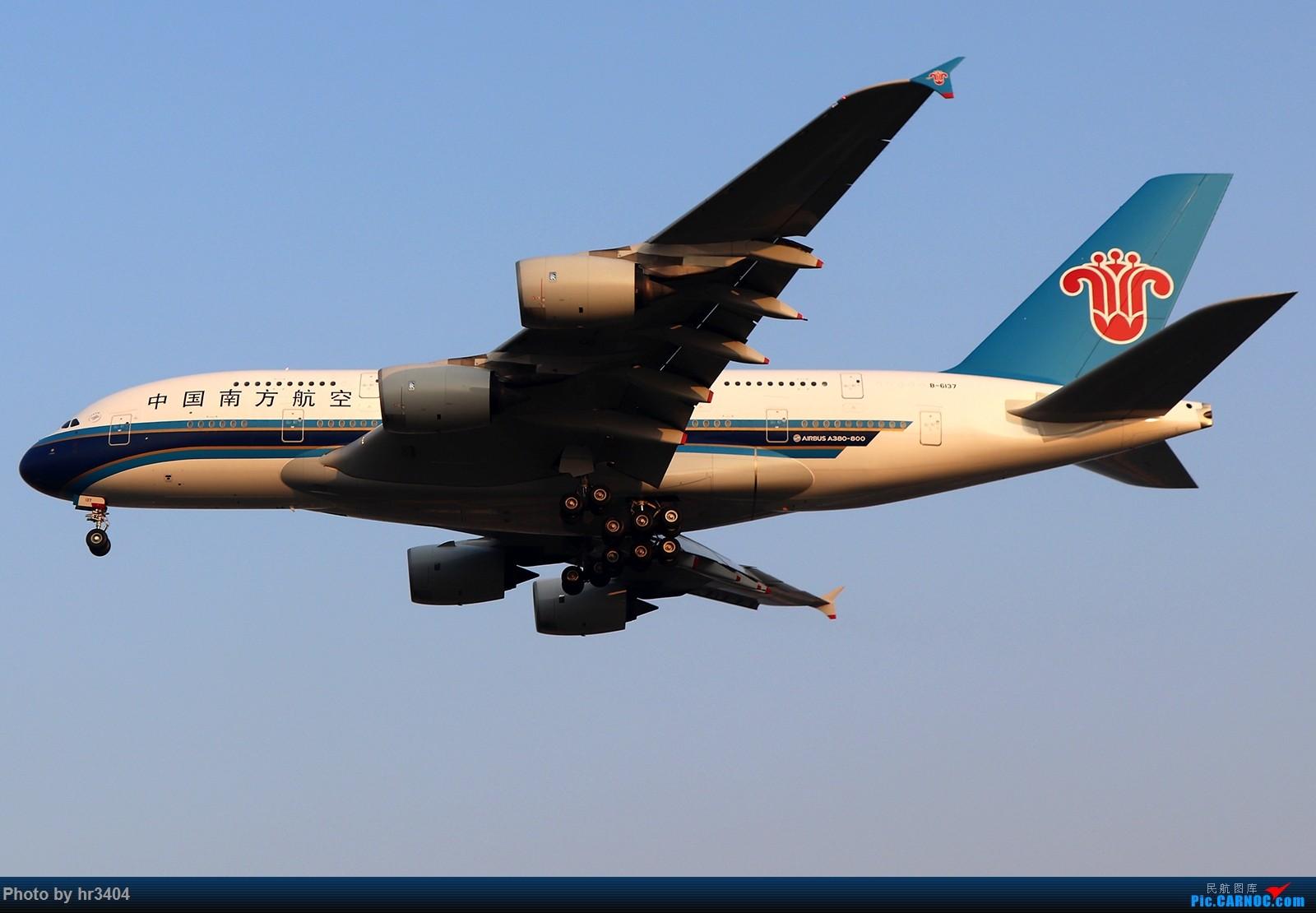 Re:[原创]寒假ZGGG拍机 AIRBUS A380 B-6137 中国广州白云国际机场