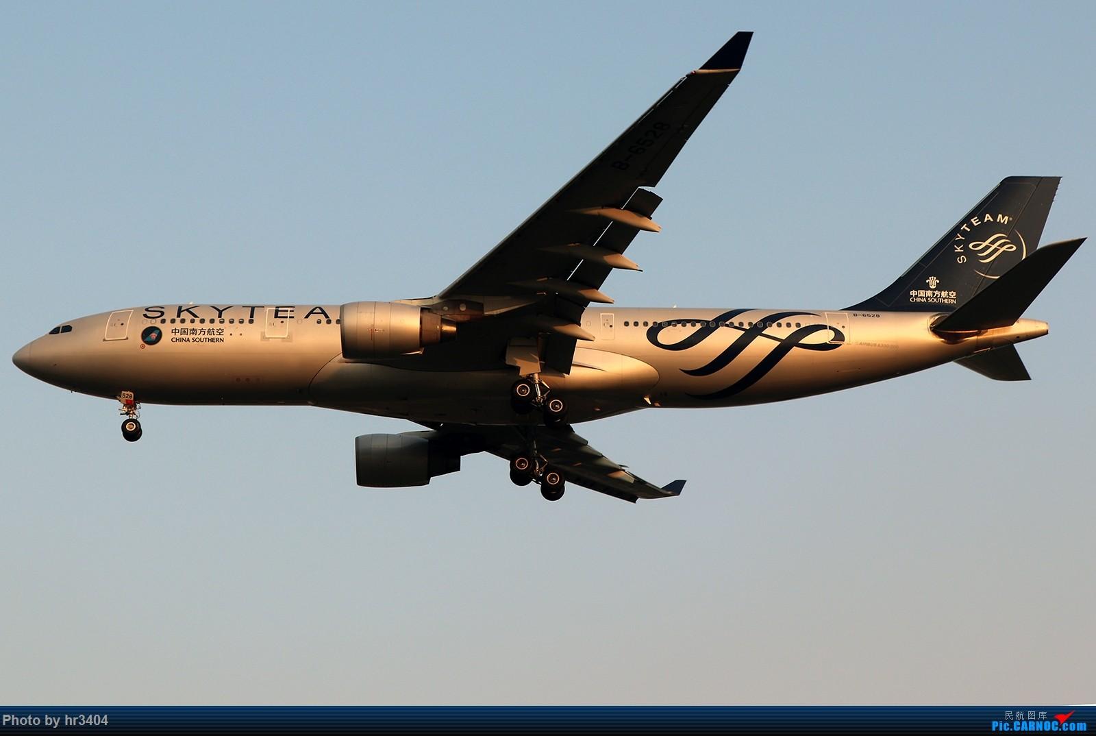 Re:[原创]寒假ZGGG拍机 AIRBUS A330-200 B-6528 中国广州白云国际机场