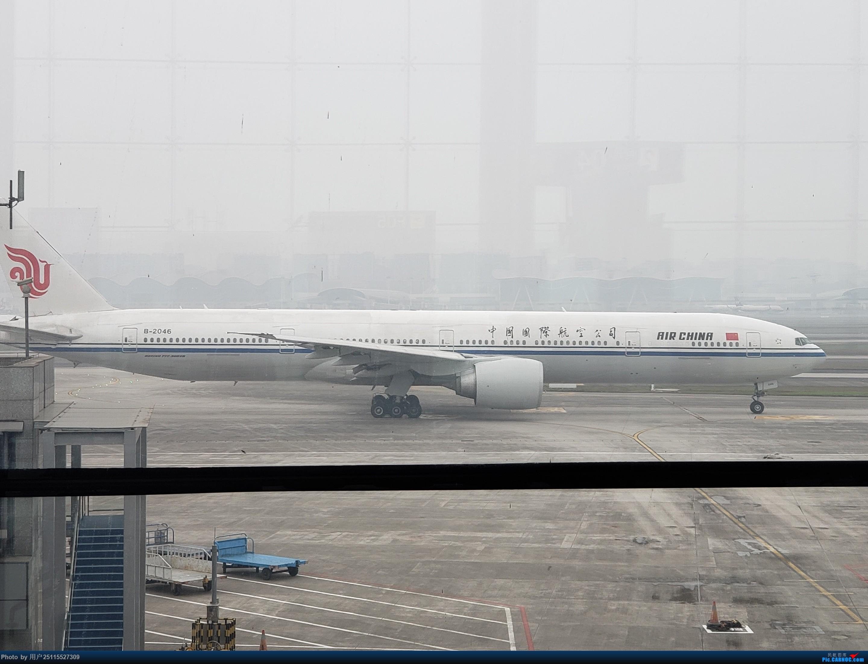 Re:[原创]潜水那么久来发个游记,ZUH-BHY-ACX-CKG-CAN体验CRJ900和789,顺便看下BHY和CKG机场 BOEING 777-300ER B-2046 中国重庆江北国际机场