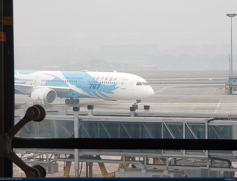 Re:[原创]潜水那么久来发个游记,ZUH-BHY-ACX-CKG-CAN体验CRJ900和789,顺便看下BHY和CKG机场 BOEING 787-9 B-1169 中国重庆江北国际机场