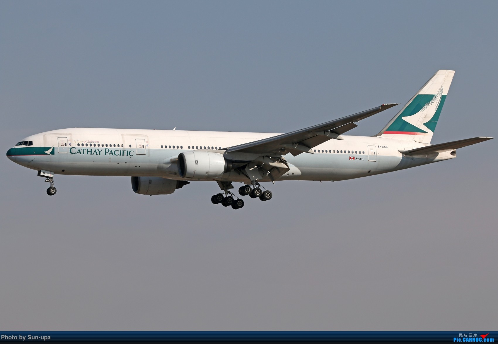 Re:[原创]ZBAA 过年第一次拍机 下午01好货不断 BOEING 777-200 B-HND 中国北京首都国际机场