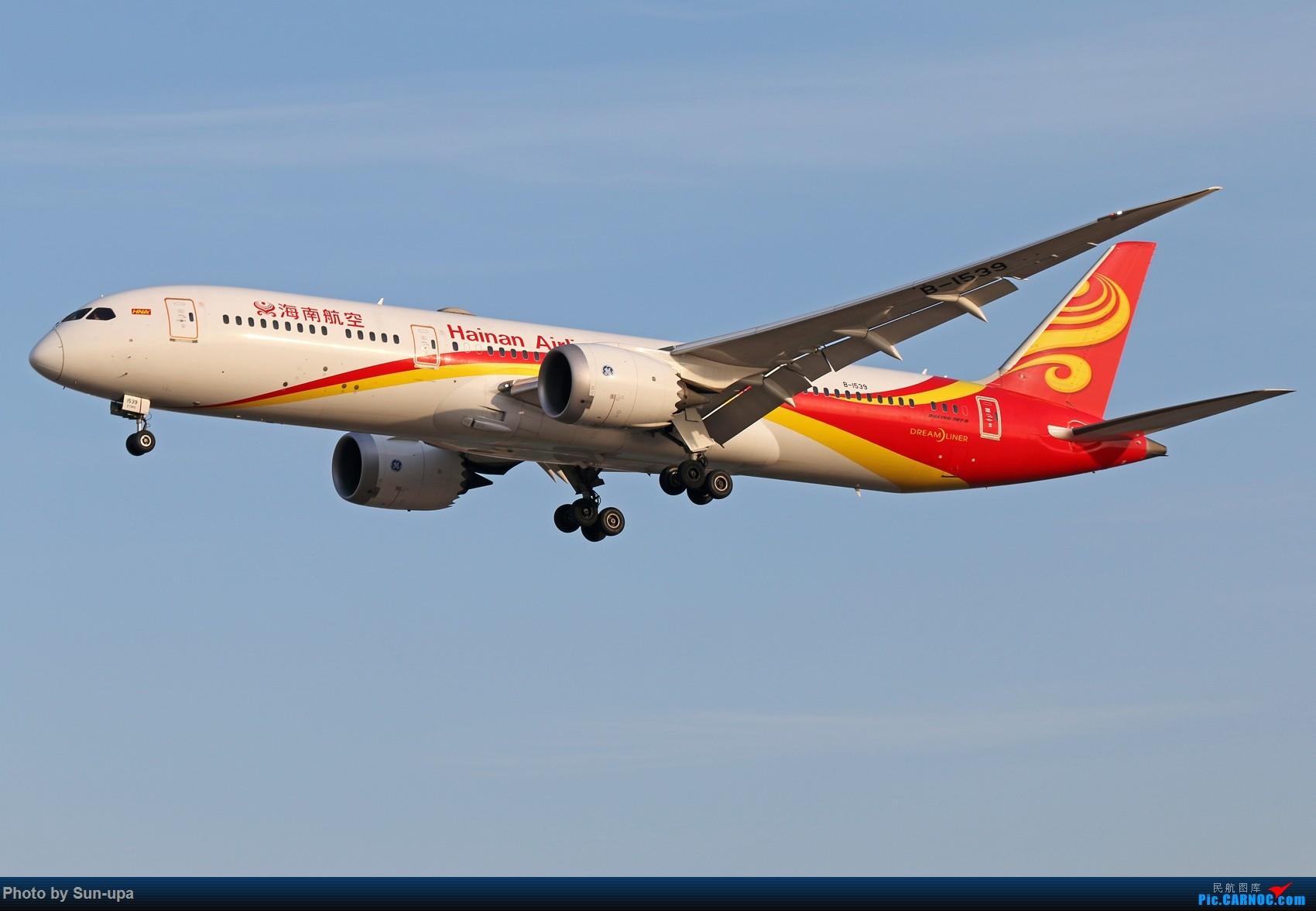 Re:[原创]ZBAA 过年第一次拍机 下午01好货不断 BOEING 787-9 B-1539 中国北京首都国际机场