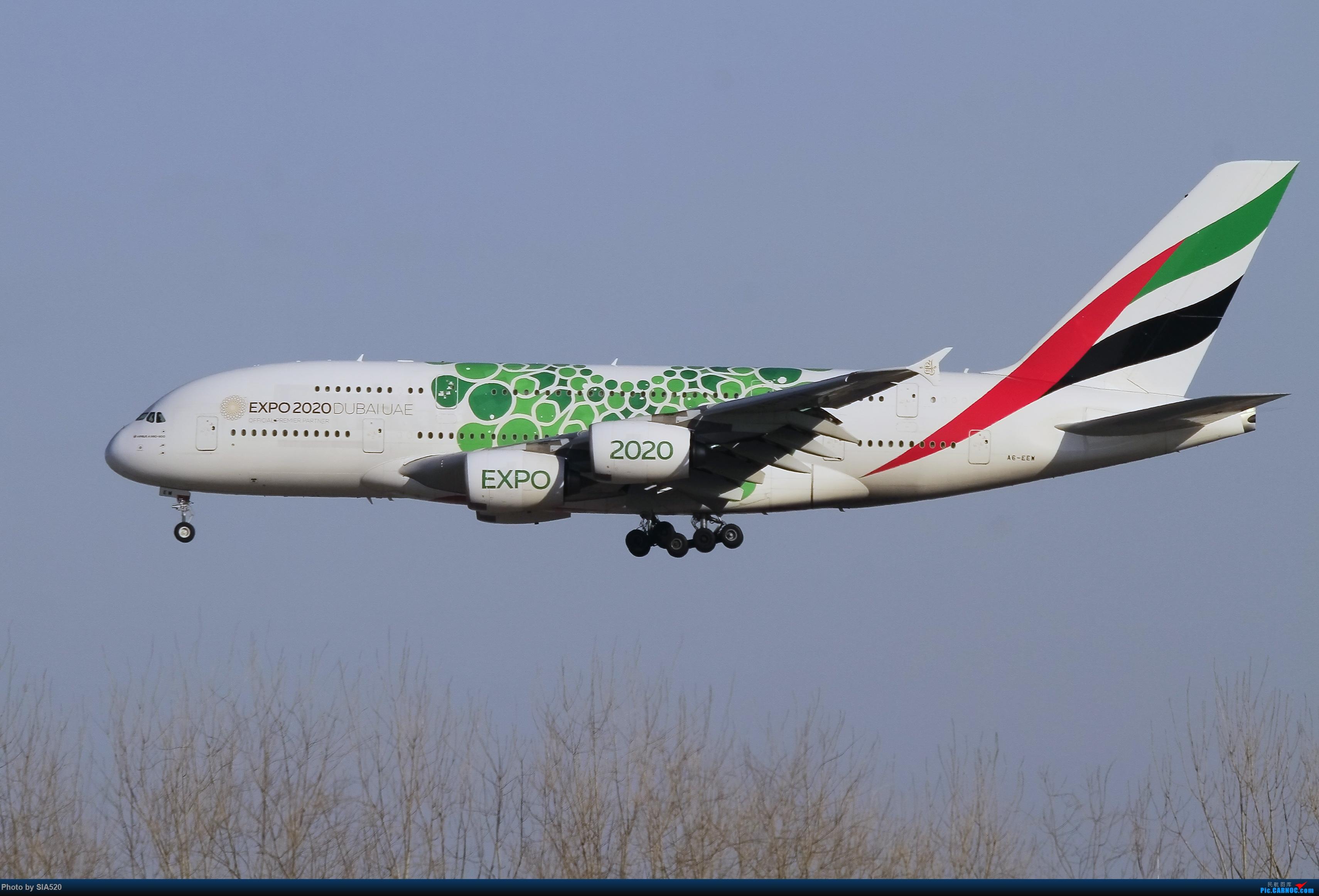 [原创]六年流年留念—感谢自己坚守 感谢所有人 AIRBUS A380-800 A6-EEW 中国北京首都国际机场
