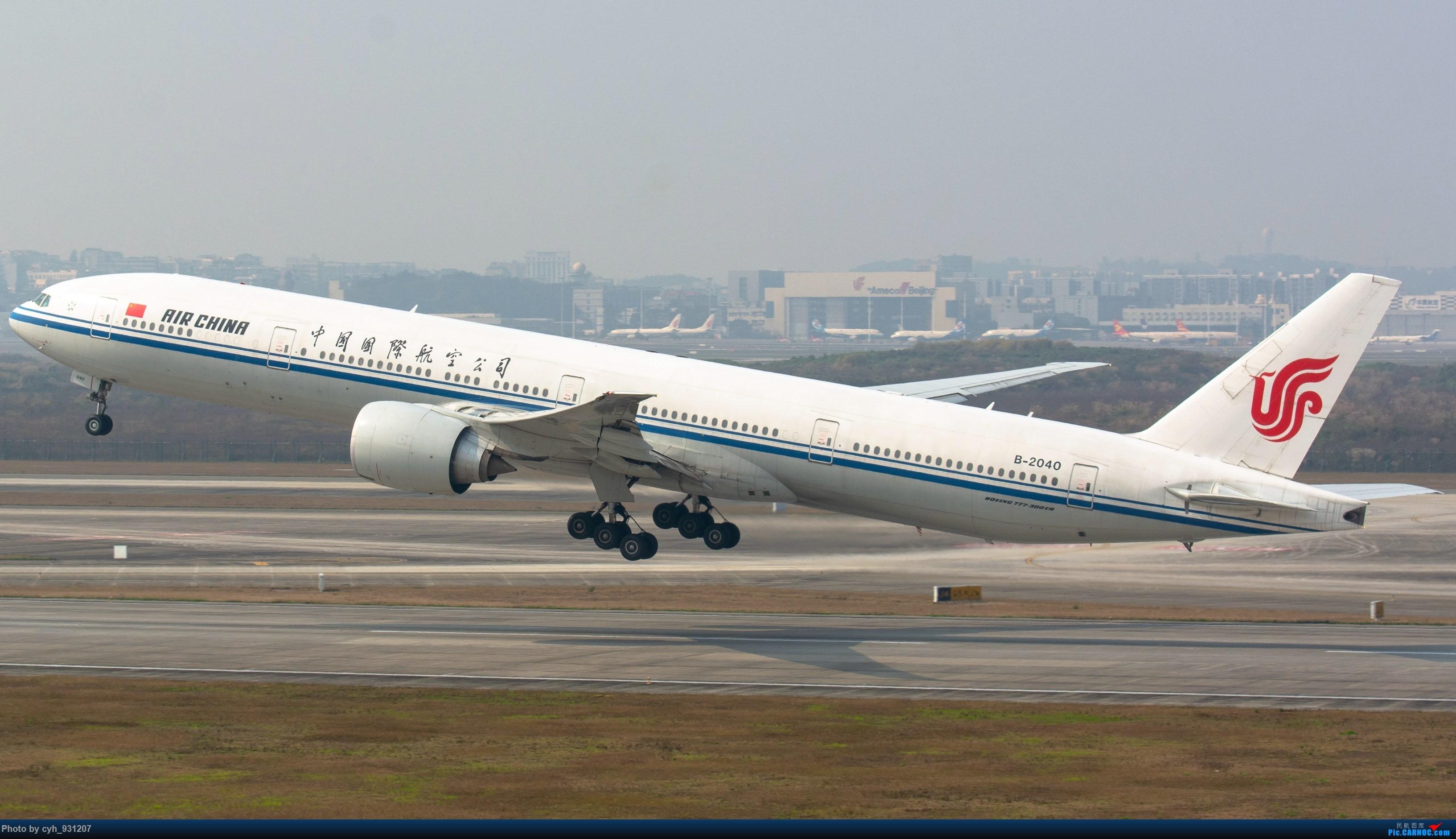 Re:[原创]大年初二,CKG三跑 BOEING 777-300ER B-2040 中国重庆江北国际机场