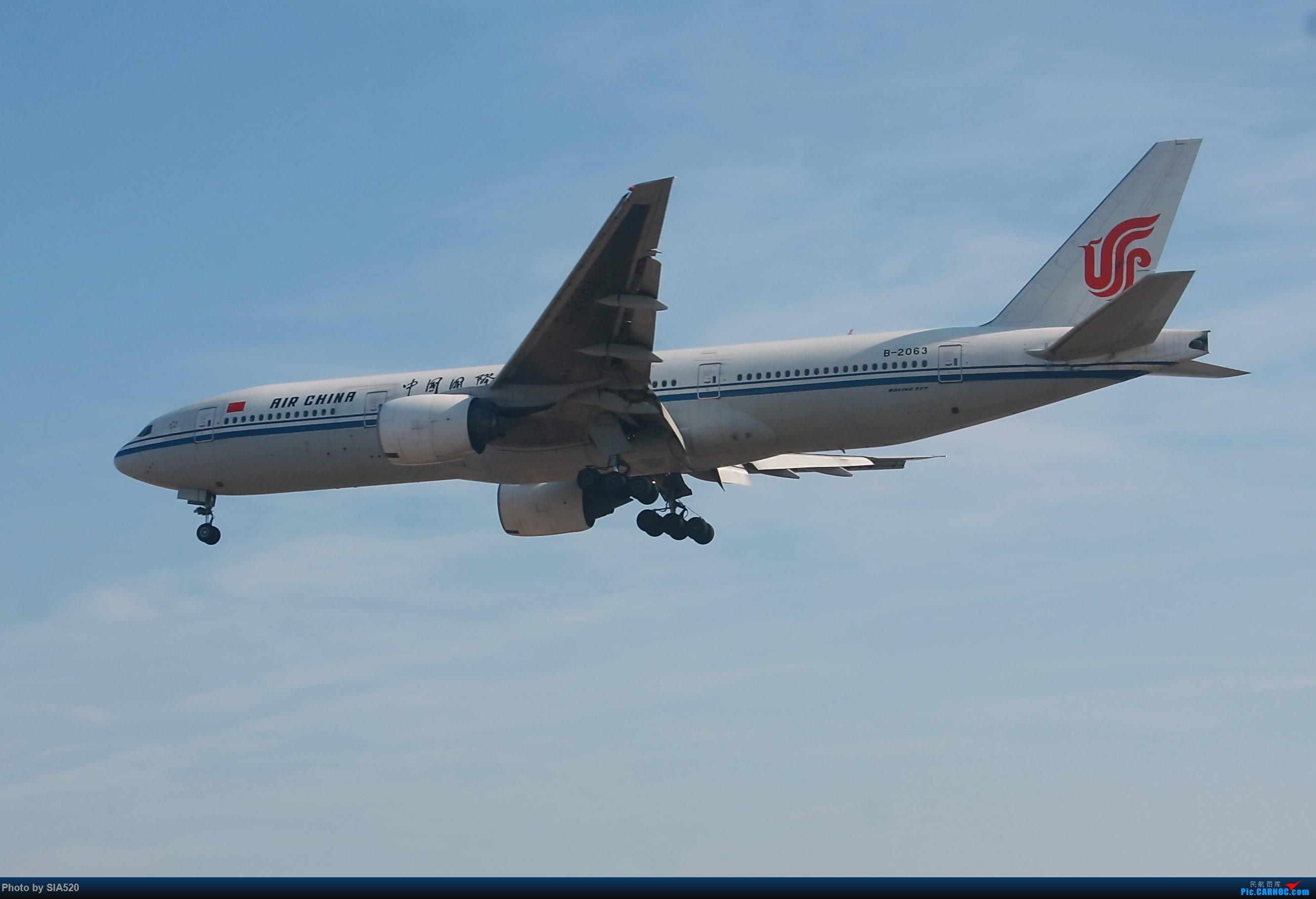 Re:[原创]六年流年留念—感谢自己坚守 感谢所有人 BOEING 777-200 B-2063 中国北京首都国际机场