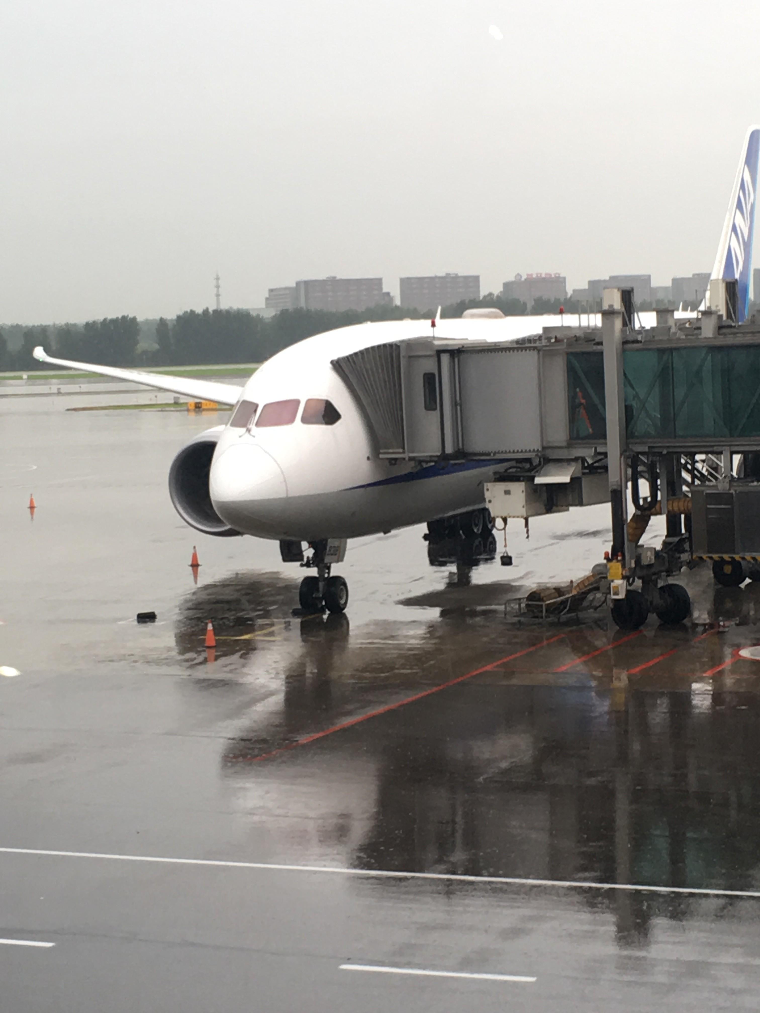 Re:[原创]~骚年飞行篇~补充半年前的香港之路,国航CA111 PEK-HKG,有幸坐到大擦第50架77W BOEING 787-8 JA838A 中国北京首都国际机场