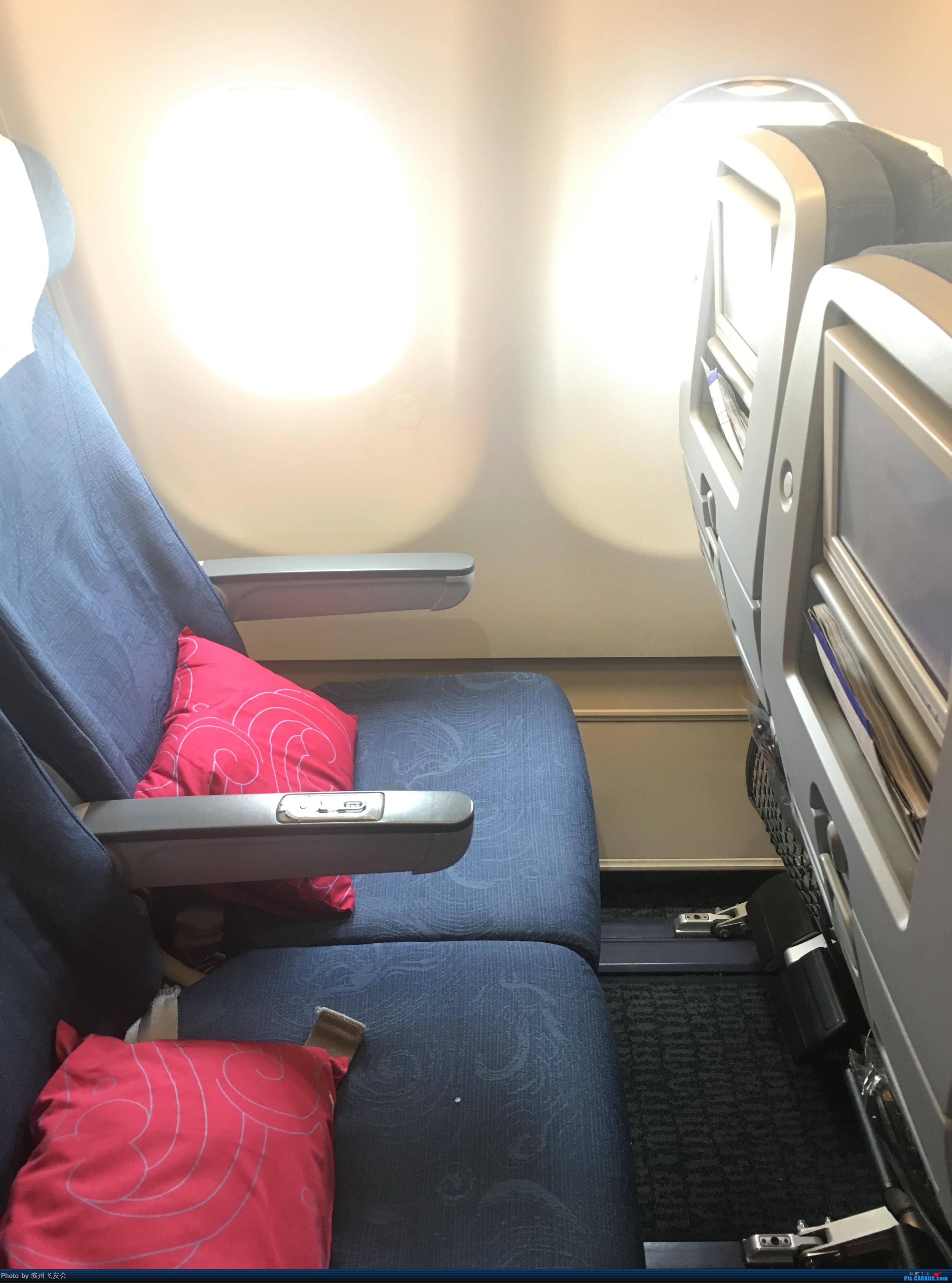 Re:[原创]~骚年飞行篇~补充半年前的香港之路,国航CA111 PEK-HKG,有幸坐到大擦第50架77W