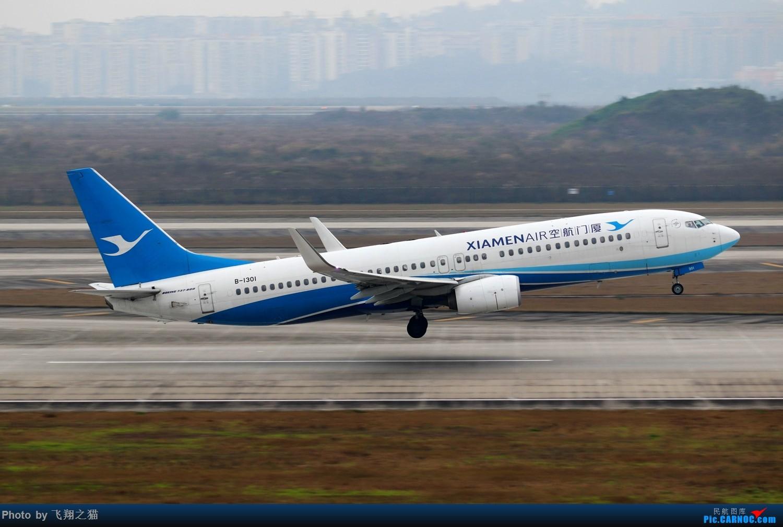 Re:[原创]CKG拍机(2019春运拍机之二) BOEING 737-800 B-1301 重庆江北国际机场