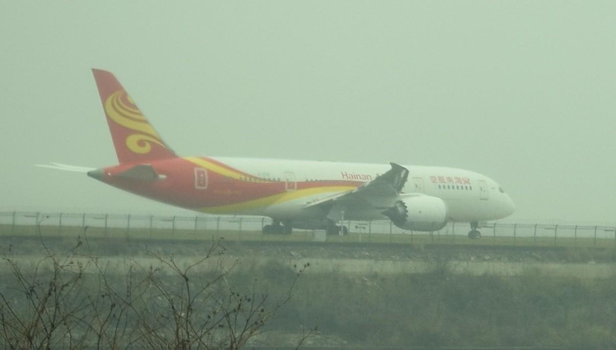 [原创][KWE]贵阳龙洞堡拍机 BOEING 787-8 B-2750 中国贵阳龙洞堡国际机场