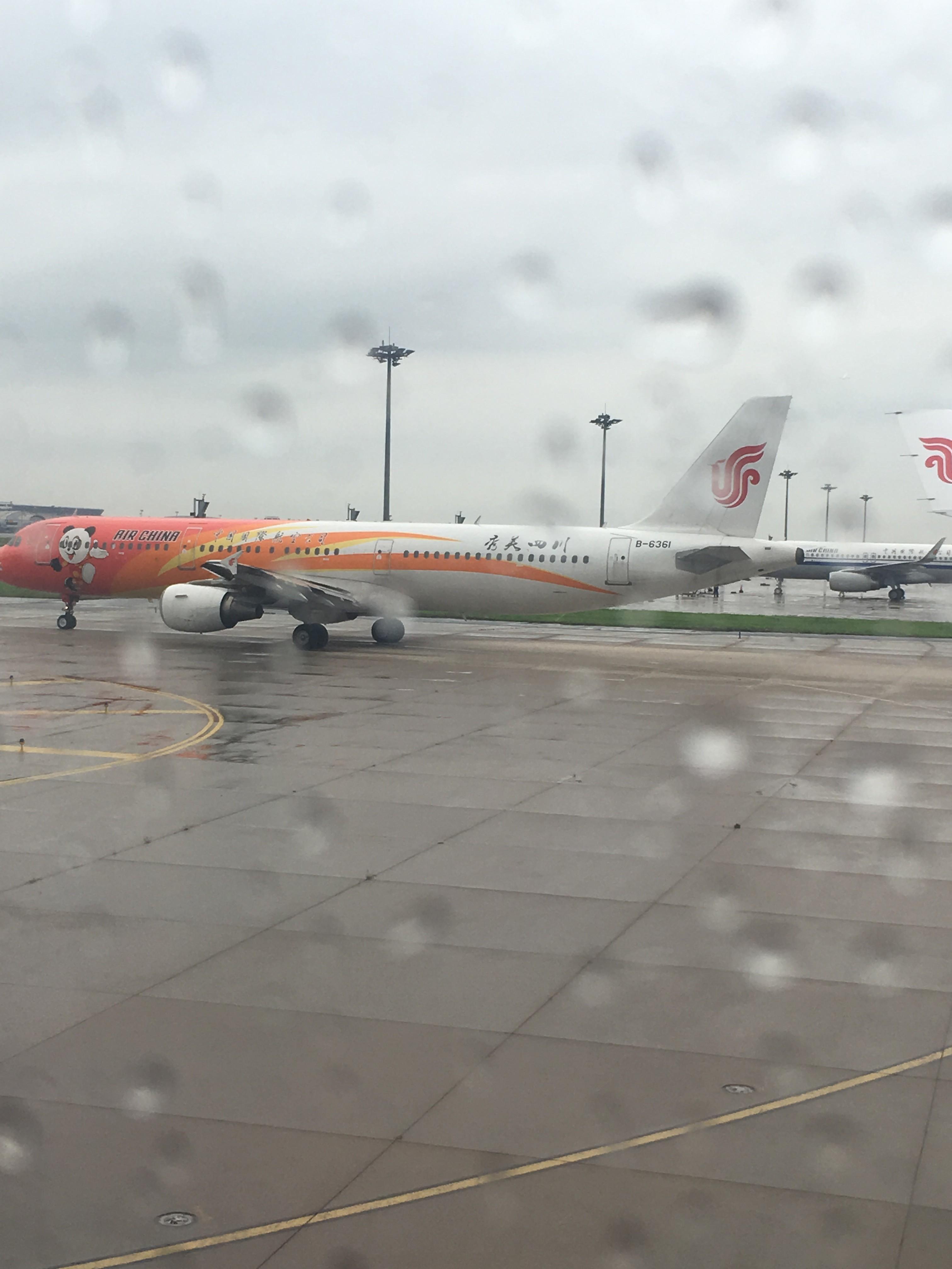 Re:[原创]~骚年飞行篇~补充半年前的CA111:PEK-HKG,有幸坐到大擦第50架A330! AIRBUS A321-200 B-6361 中国北京首都国际机场