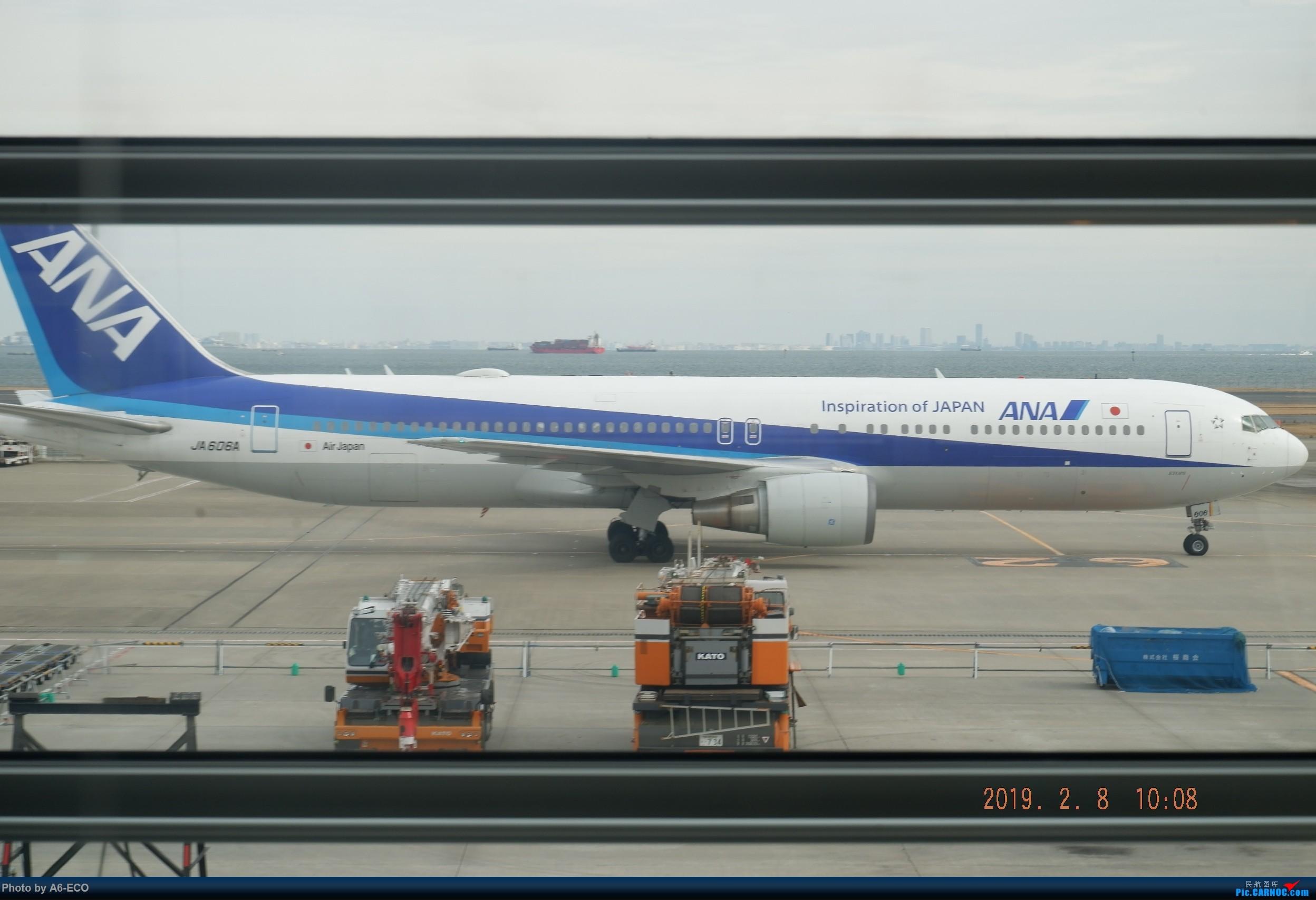 Re:[原创]HND内场,@henrish @Skyteam123 BOEING 767-300 JA606A 日本东京羽田国际机场
