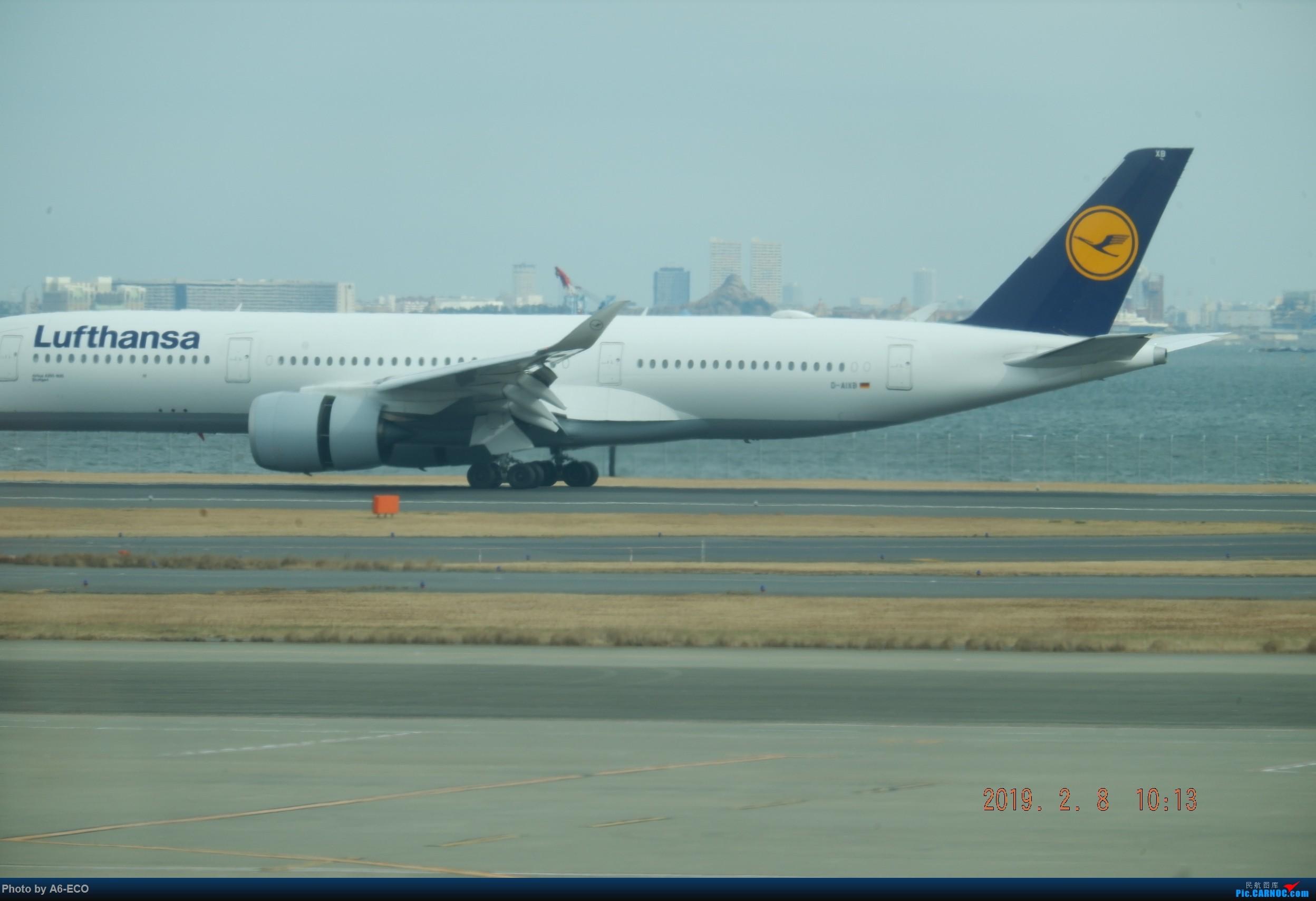 Re:[原创]HND内场,@henrish @Skyteam123 AIRBUS A350-900 D-AIXB 日本东京羽田国际机场