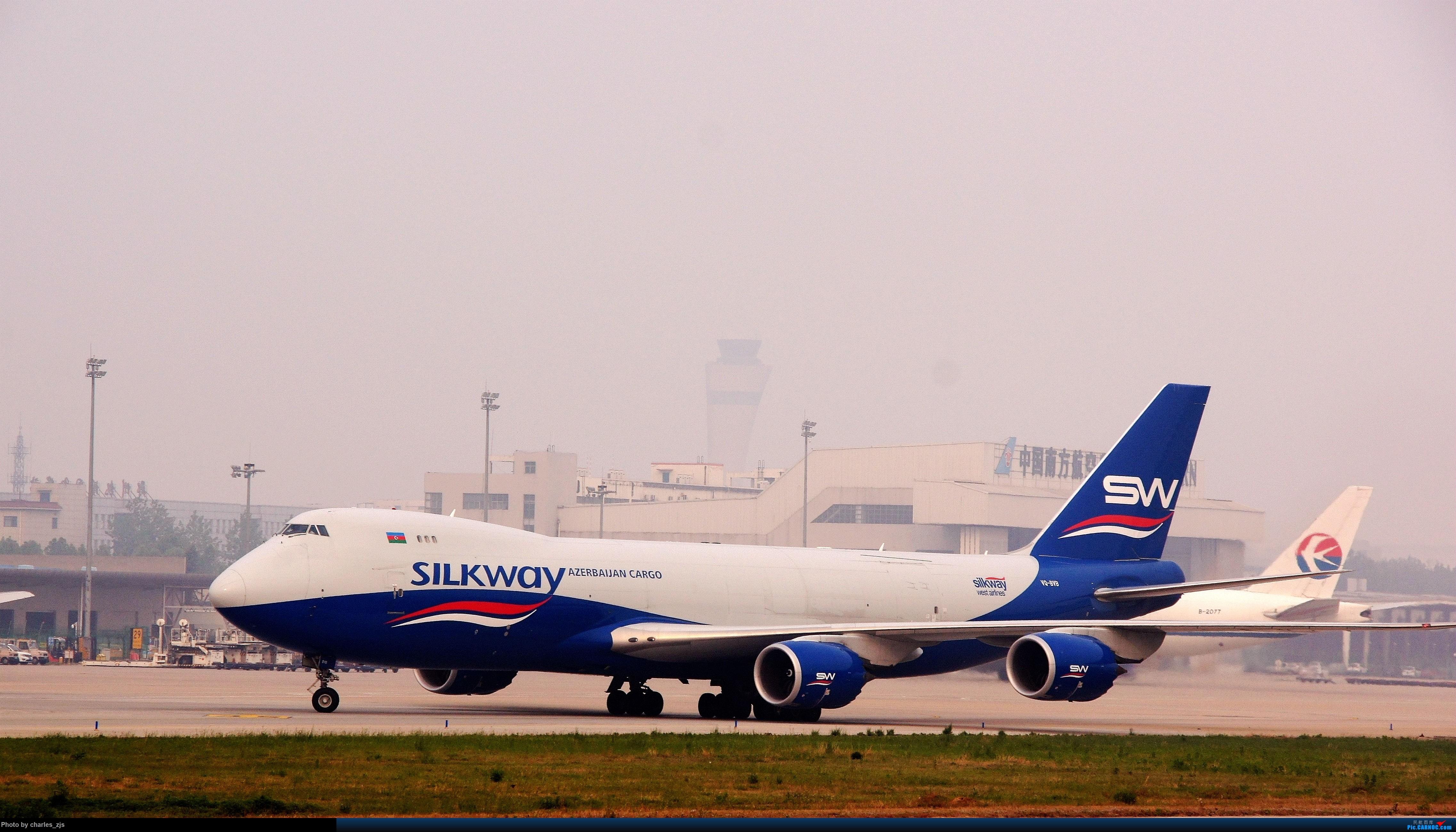 [供]郑州新郑国际机场拍机 BOEING 747-8F VQ-BVB 中国郑州新郑国际机场