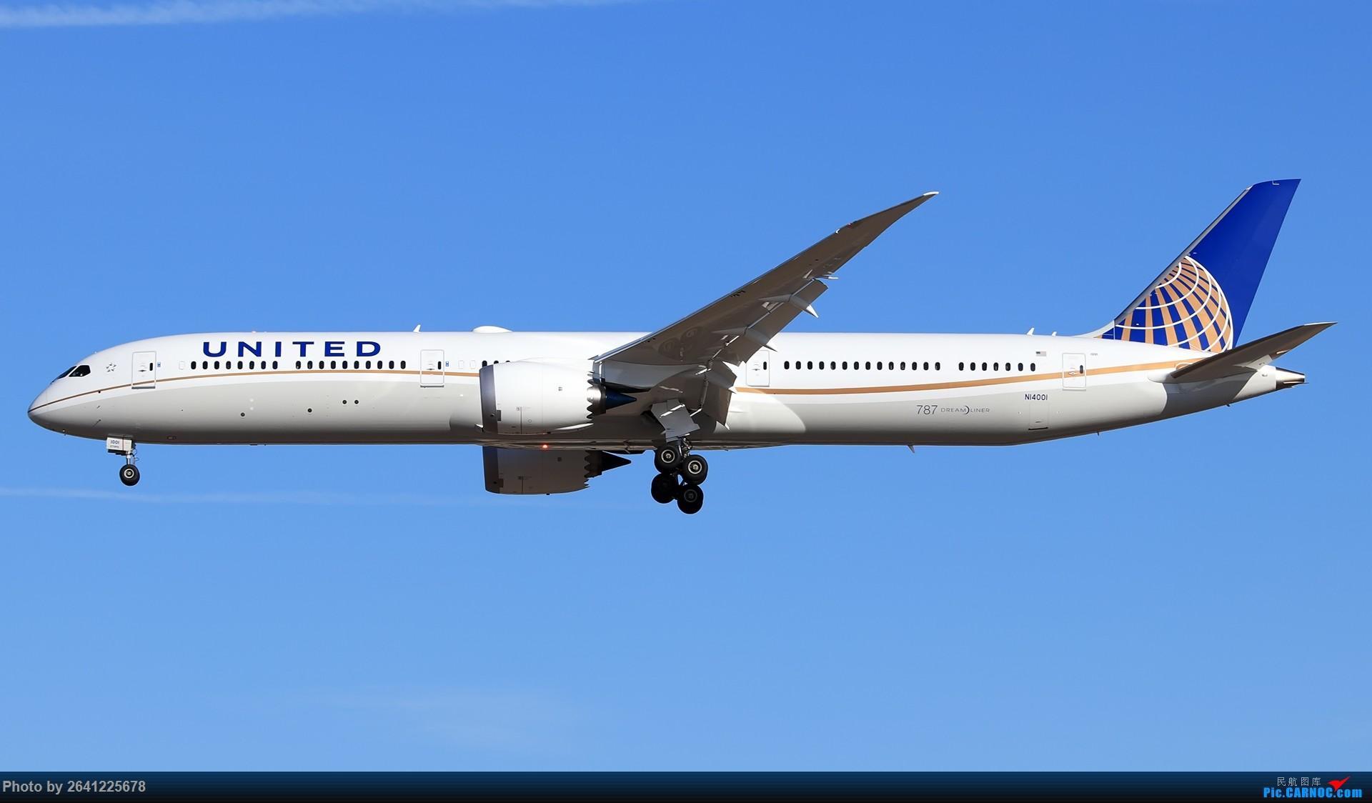 [原创]美联航787-10到访北京,接代表团返回华盛顿 BOEING 787-10 N14001 中国北京首都国际机场
