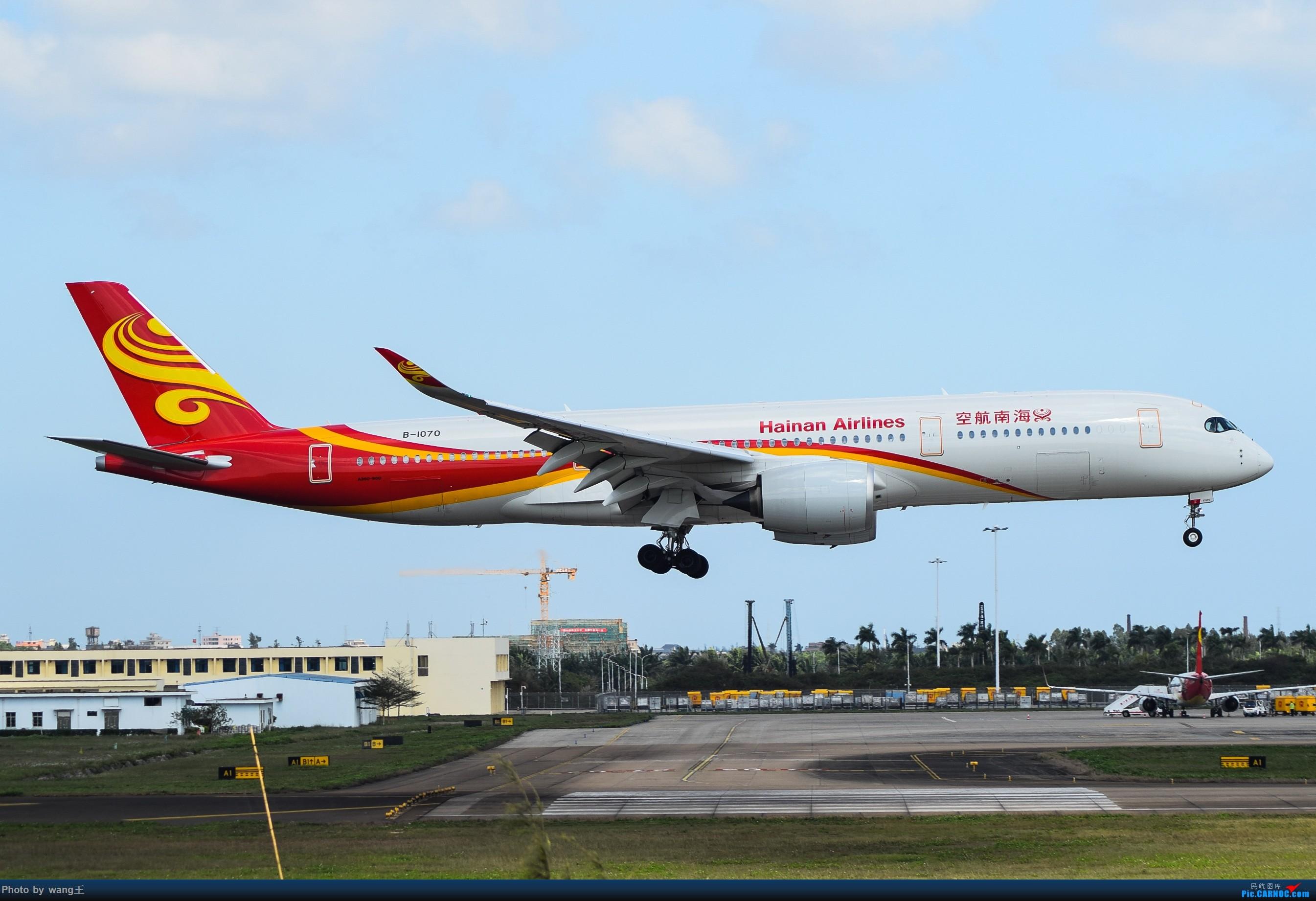 记录HAK 2019的春运 AIRBUS A350-900 B-1070 中国海口美兰国际机场
