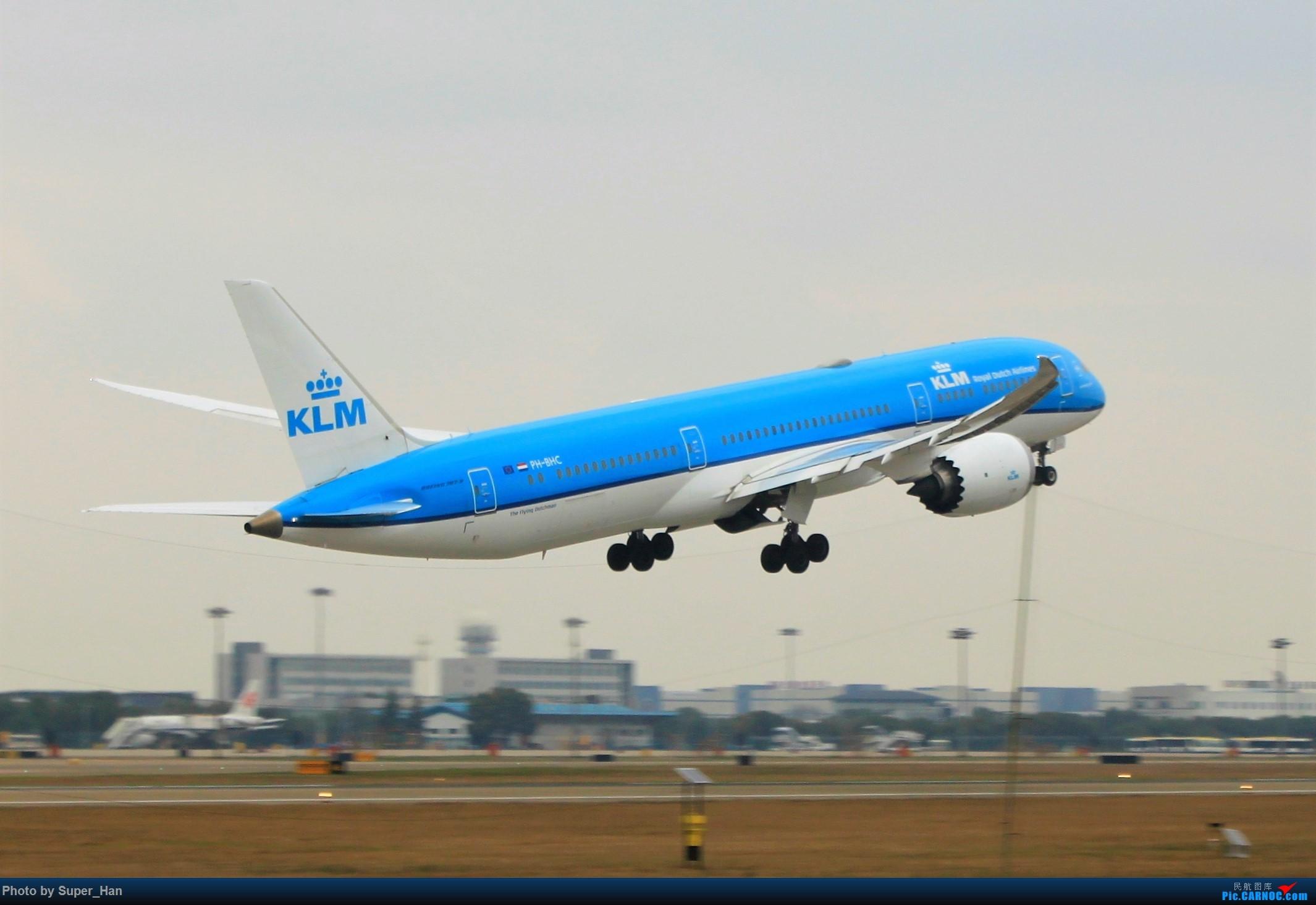 [原创]0217再访HGH BOEING 787-9 PH-BHC 中国杭州萧山国际机场
