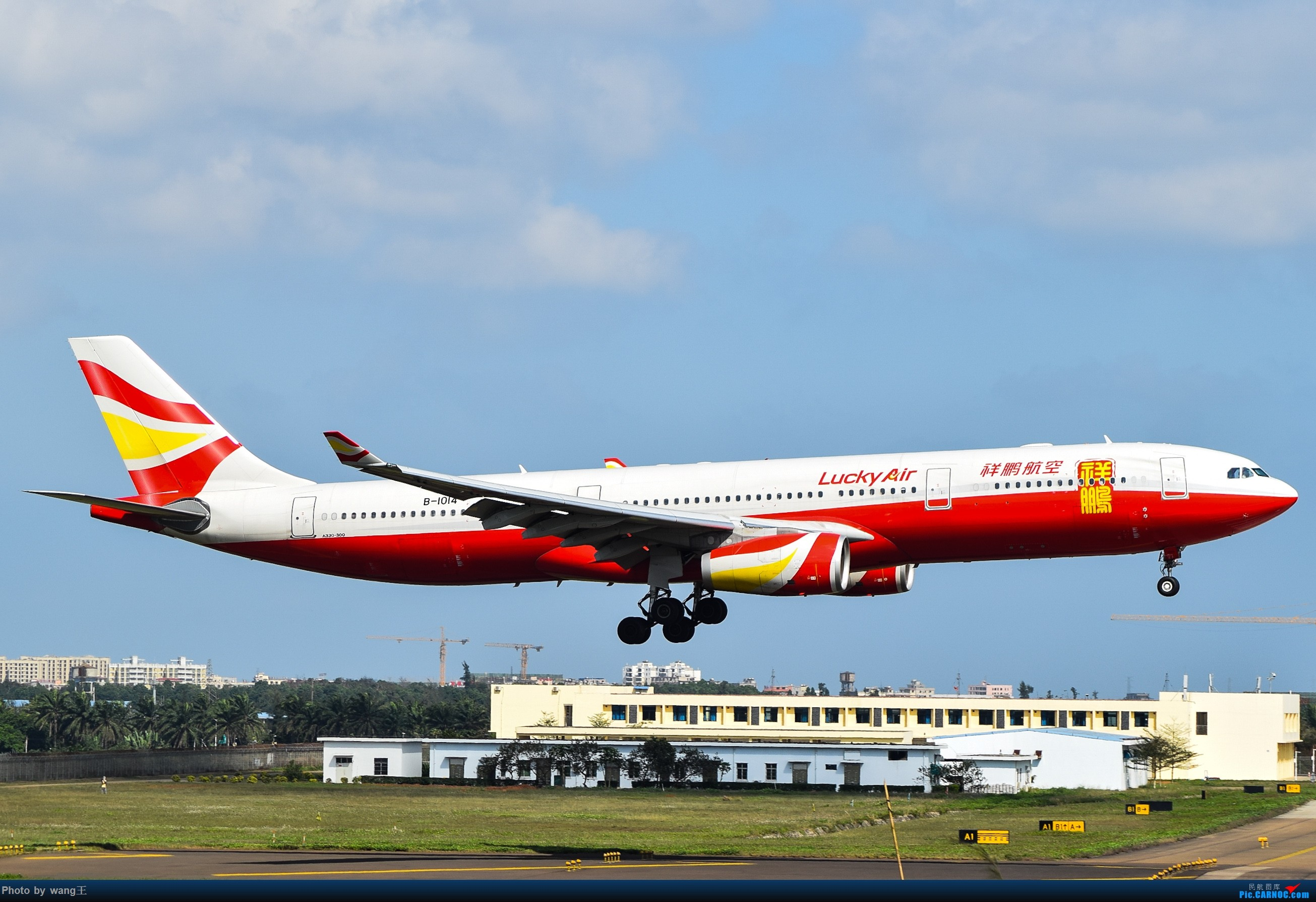 Re:[原创]记录HAK 2019的春运 AIRBUS A330-300 B-1014 中国海口美兰国际机场