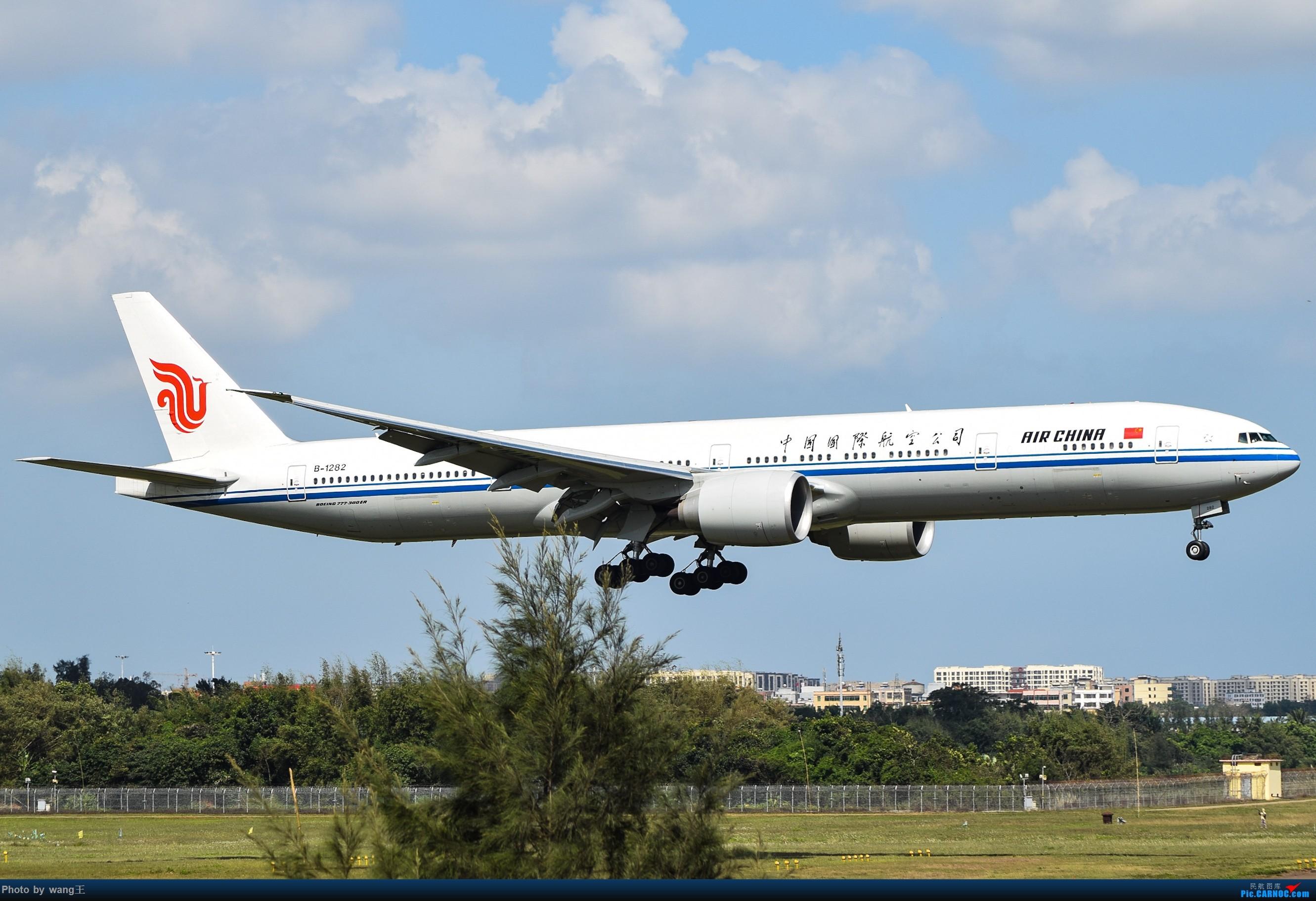 Re:记录HAK 2019的春运 BOEING 777-300ER B-1282 中国海口美兰国际机场