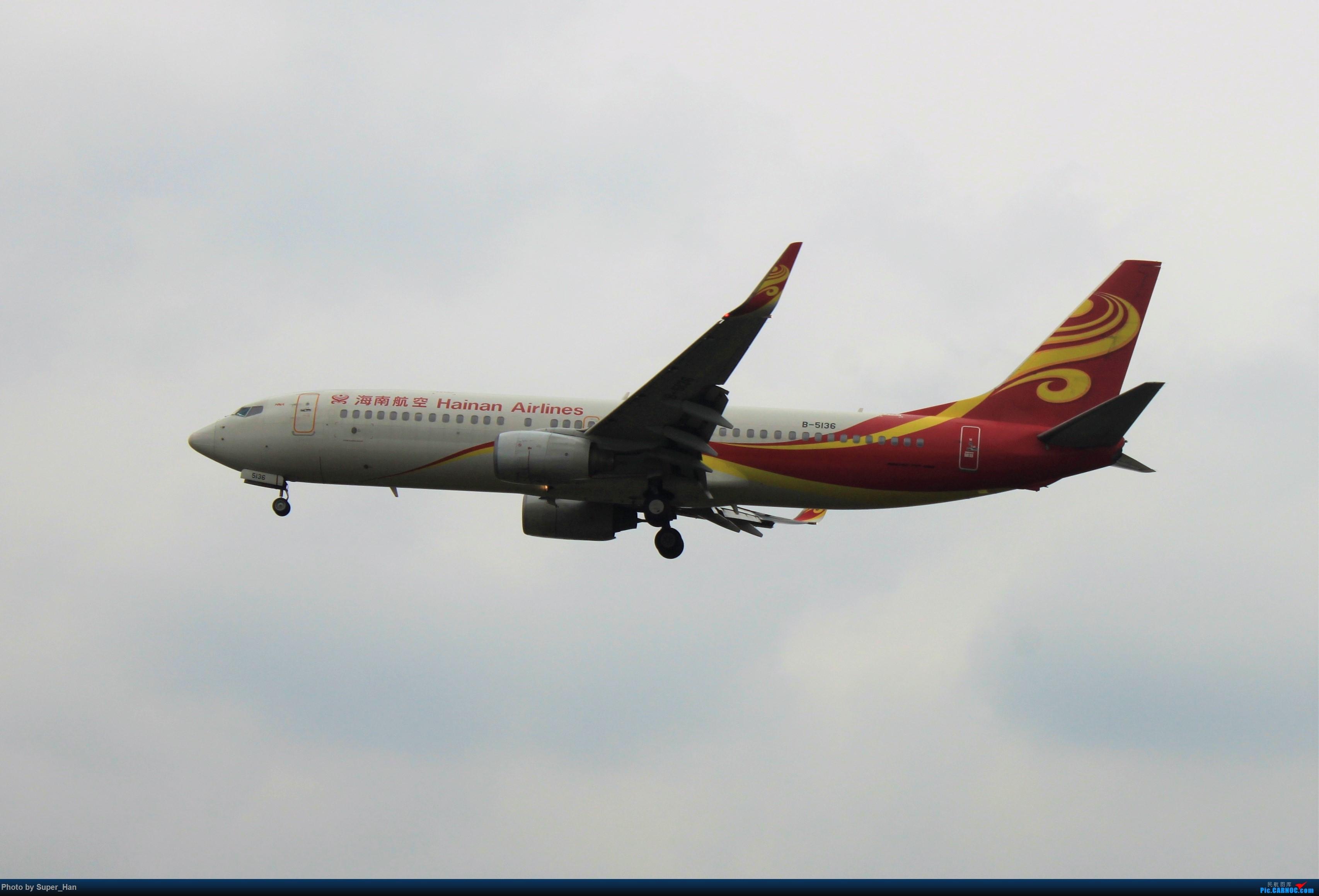 Re:[原创]0217再访HGH BOEING 737-800 B-5136 中国杭州萧山国际机场