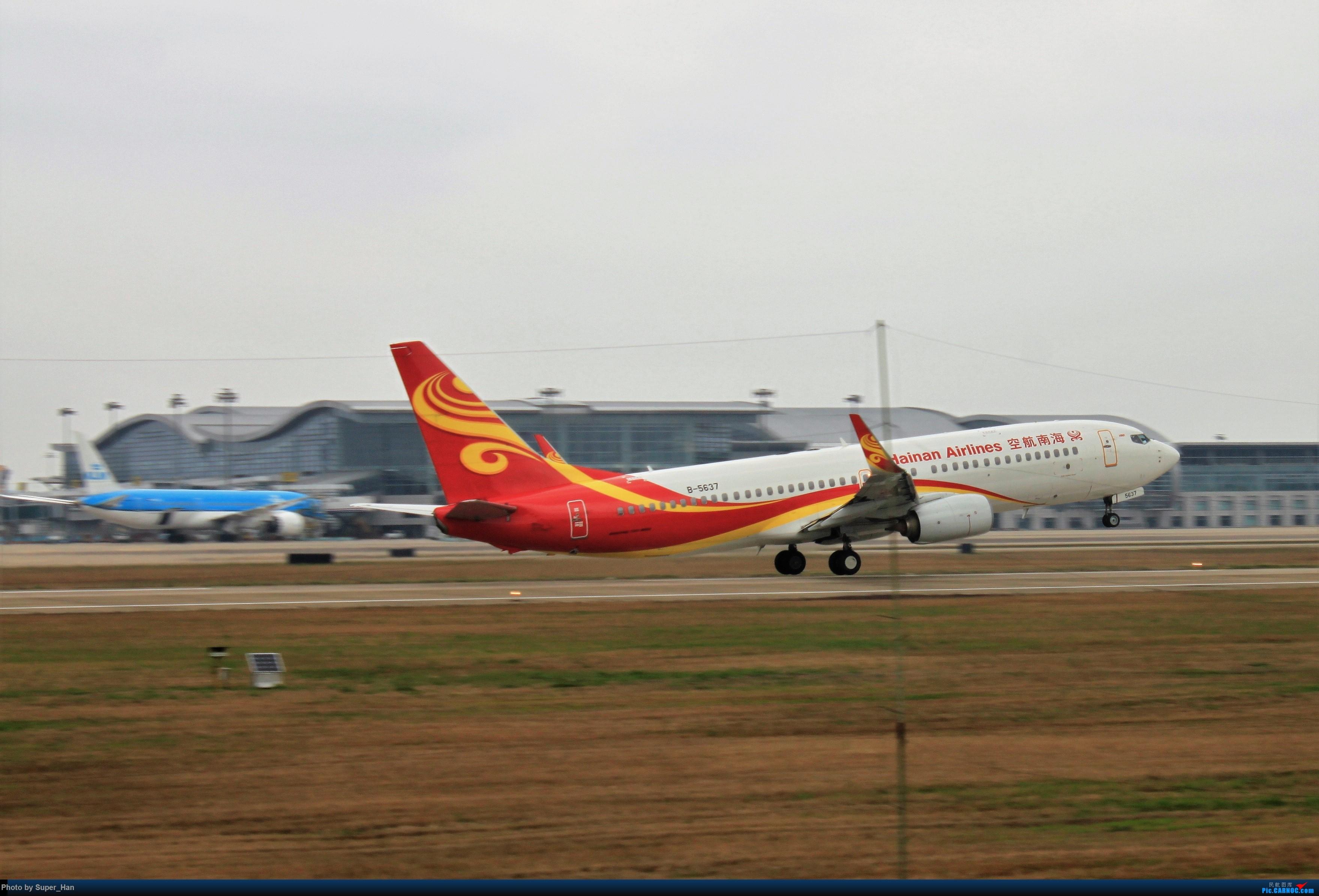 Re:[原创]0217再访HGH BOEING 737-800 B-5637 中国杭州萧山国际机场