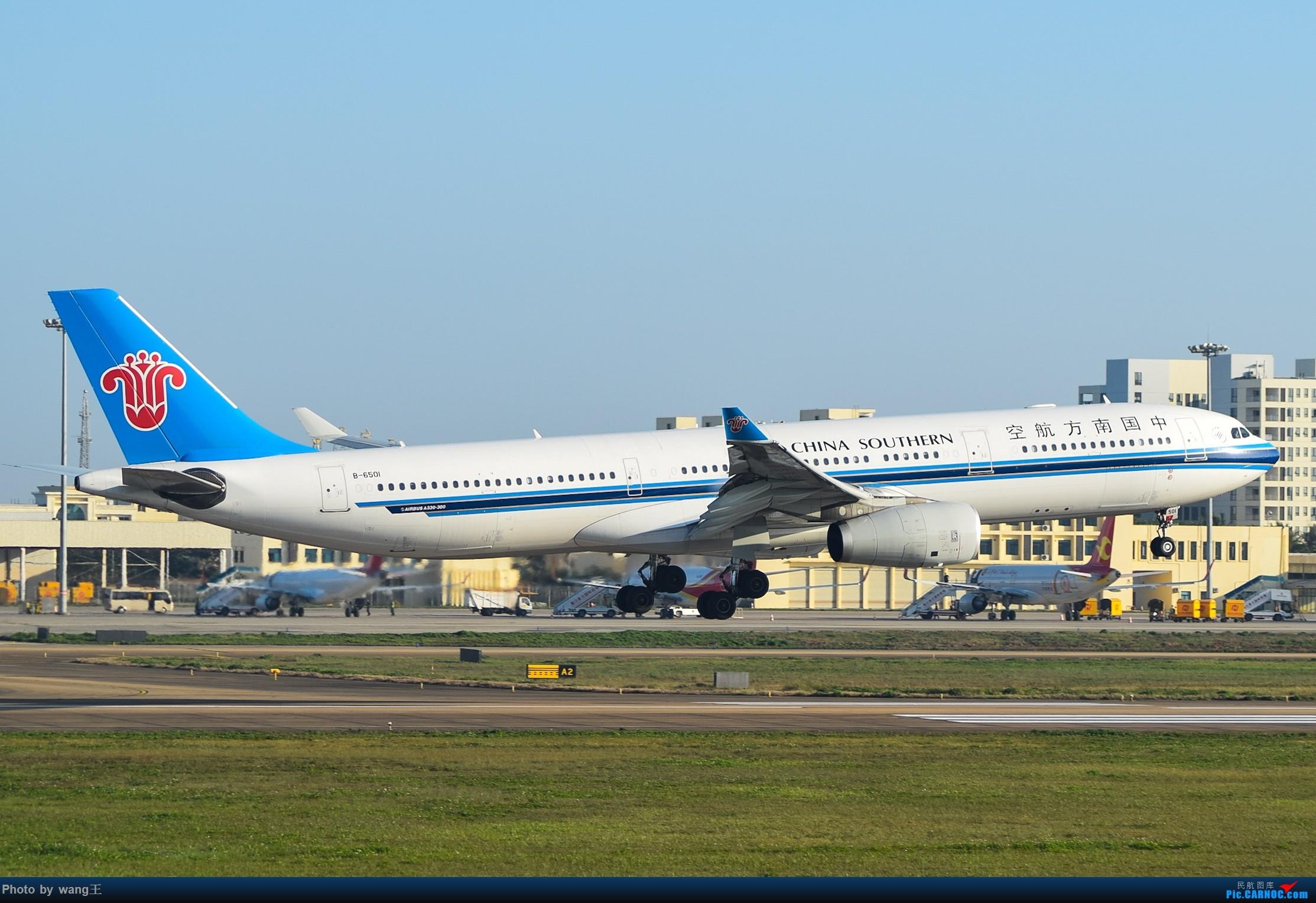 Re:[原创]记录HAK 2019的春运 AIRBUS A330-300 B-6501 中国海口美兰国际机场