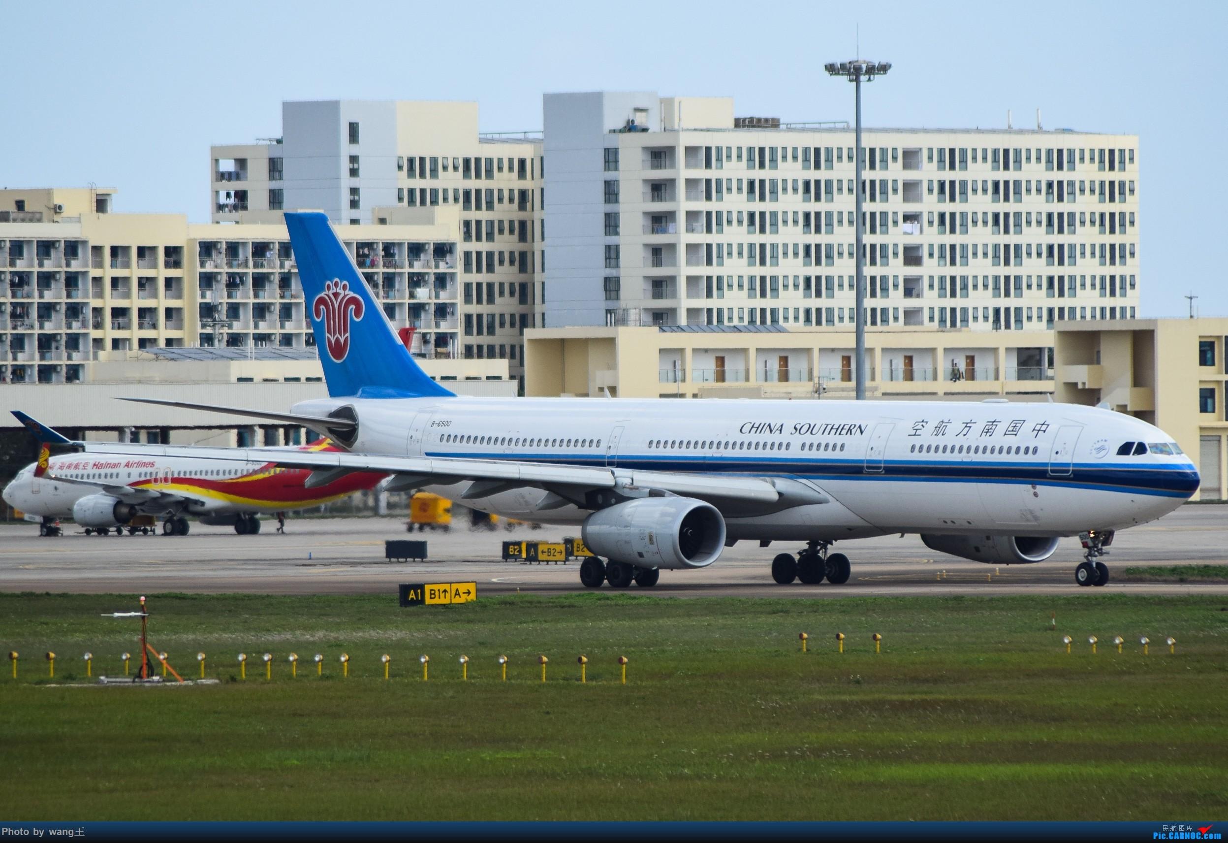 Re:[原创]记录HAK 2019的春运 AIRBUS A330-300 B-6500 中国海口美兰国际机场