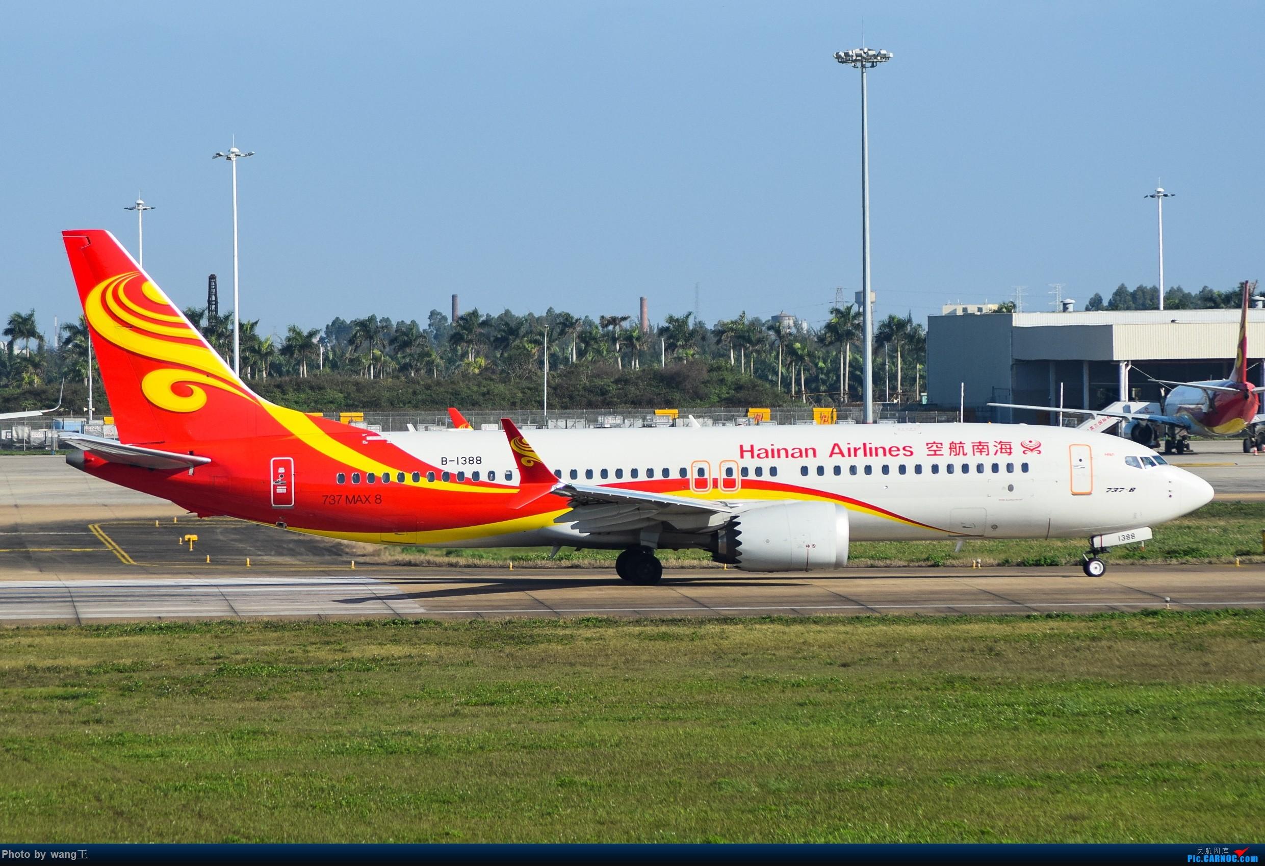 Re:[原创]记录HAK 2019的春运 BOEING 737MAX-8 B-1388 中国海口美兰国际机场