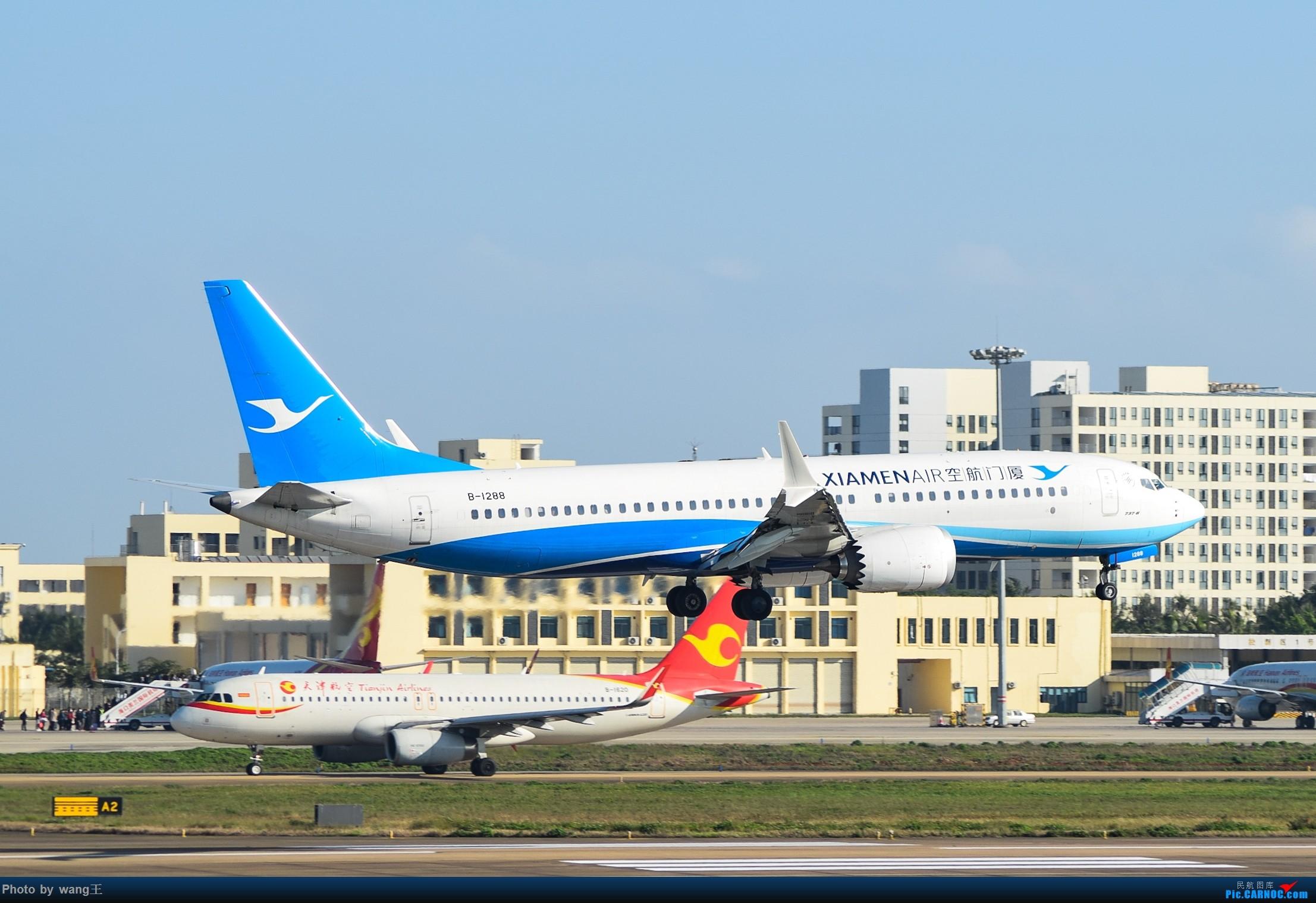 Re:[原创]记录HAK 2019的春运 BOEING 737MAX-8 B-1288 中国海口美兰国际机场