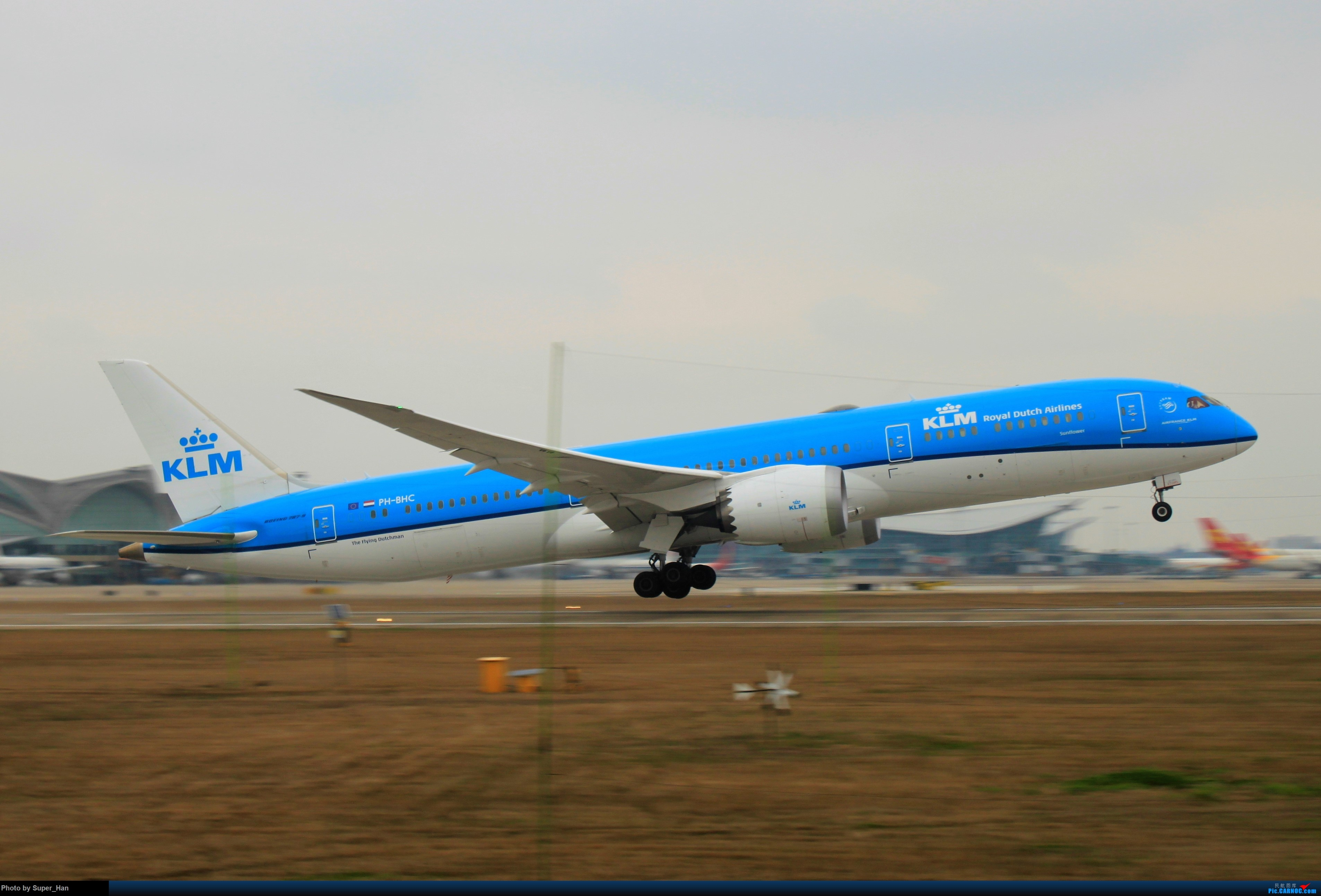 Re:[原创]0217再访HGH BOEING 787-9 PH-BHC 中国杭州萧山国际机场