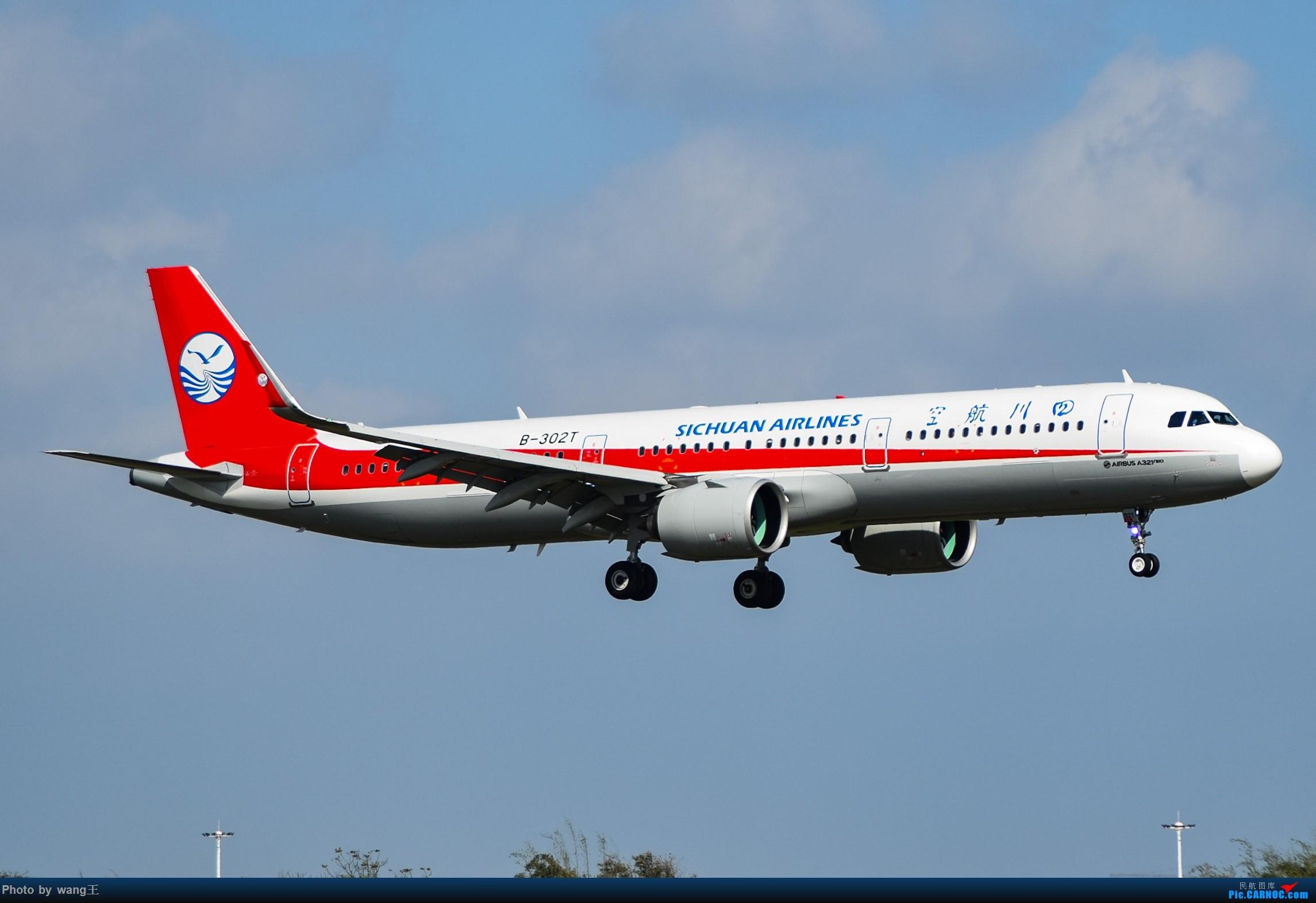 Re:[原创]记录HAK 2019的春运 AIRBUS A321NEO B-302T 中国海口美兰国际机场