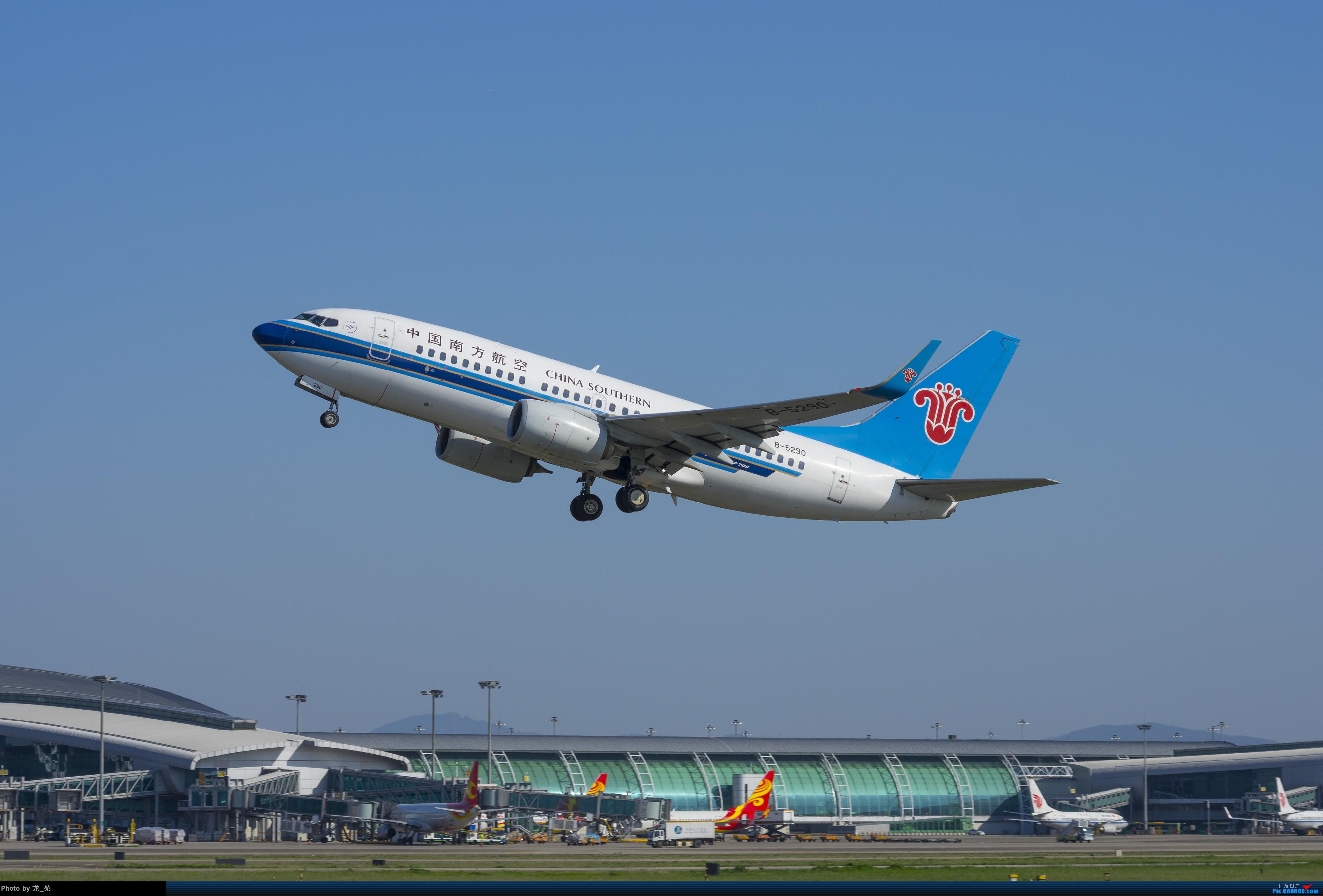Re:[原创]发一组CAN的旧图,我可能是论坛唯一宾得党了吧 BOEING 737-700 B-5290 中国广州白云国际机场