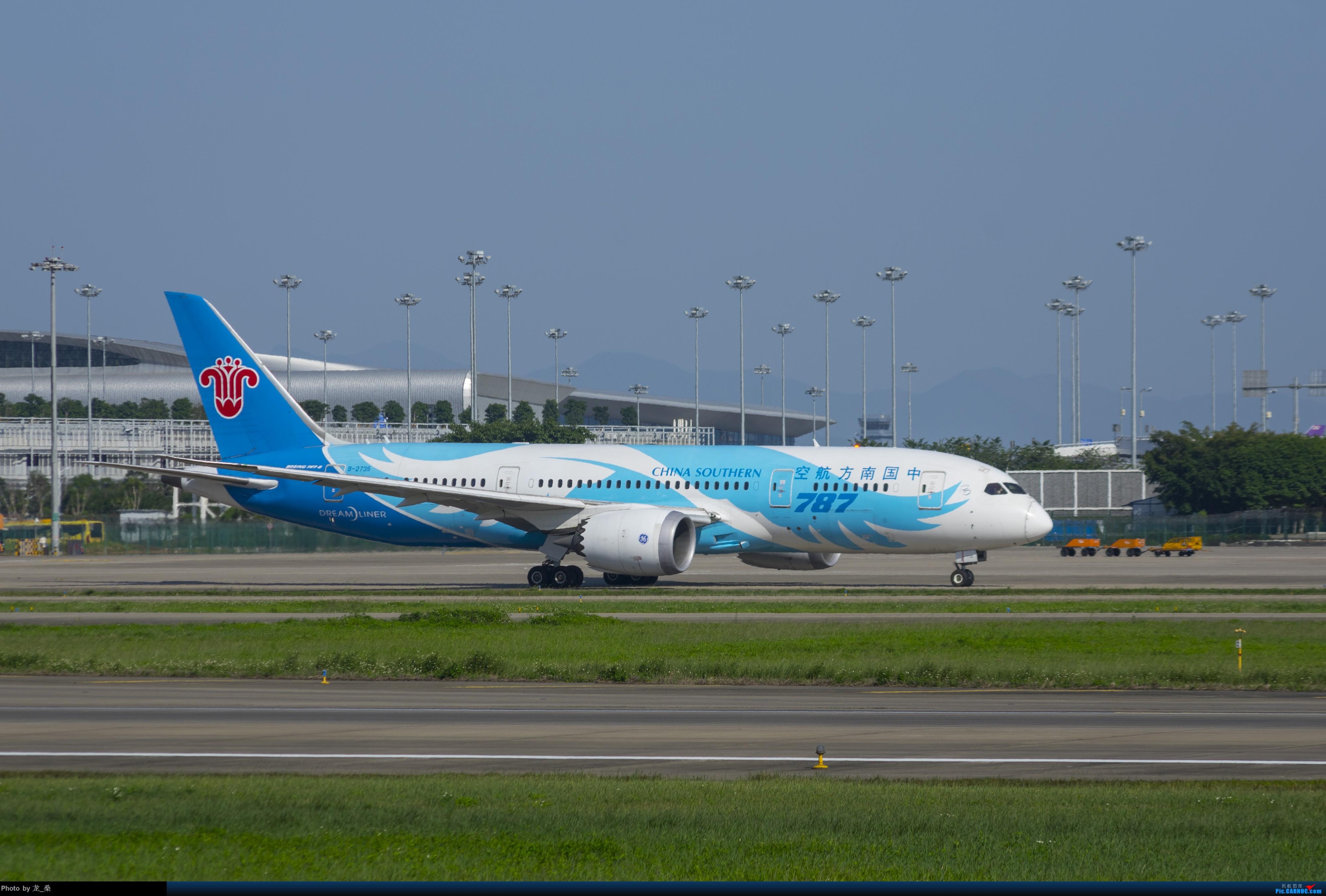 Re:[原创]发一组CAN的旧图,我可能是论坛唯一宾得党了吧 BOEING 787-8 B-2735 中国广州白云国际机场