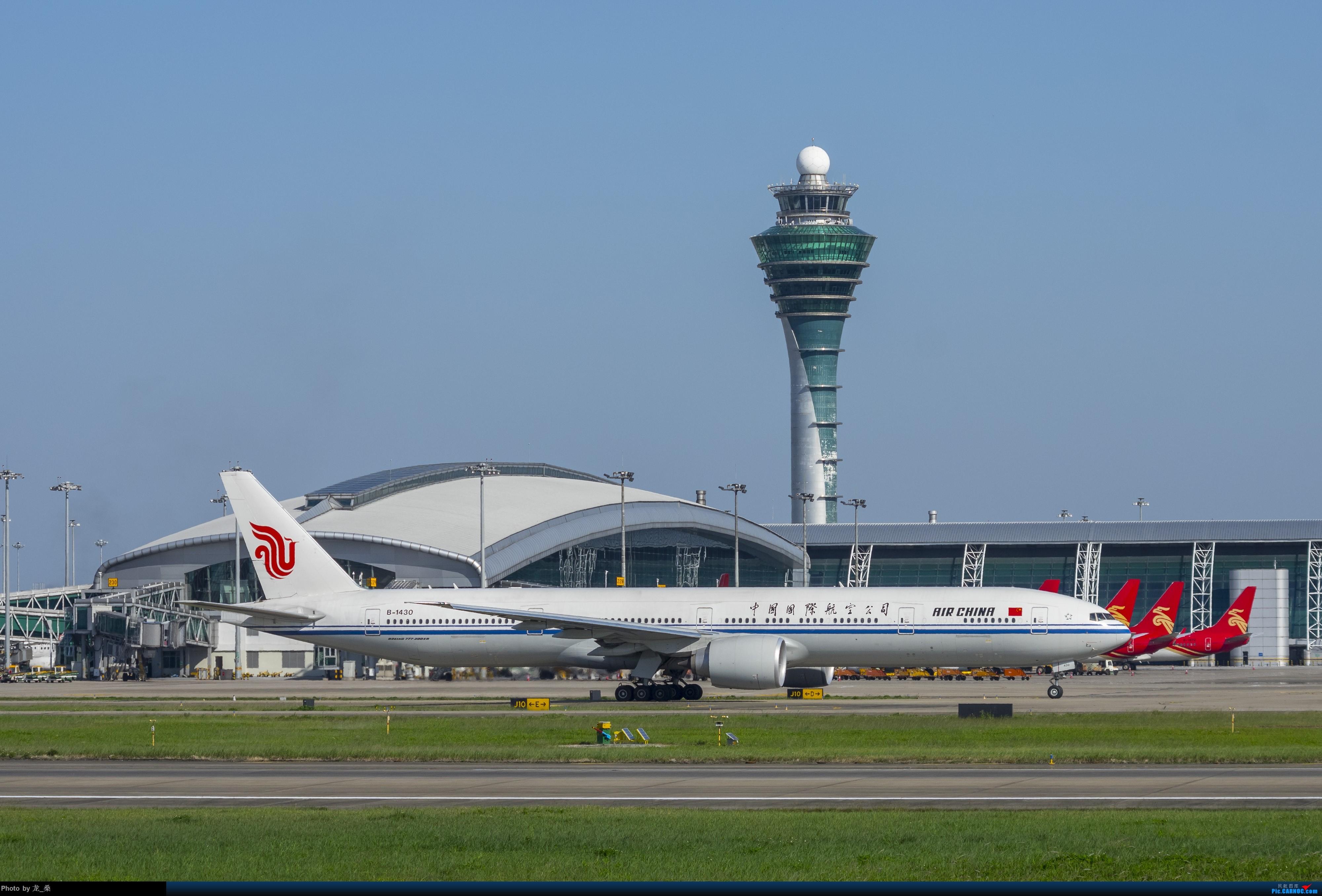 Re:[原创]发一组CAN的旧图,我可能是论坛唯一宾得党了吧 BOEING 777-300ER B-1430 中国广州白云国际机场