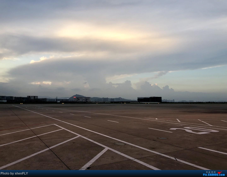 Re:[原创]伴随夕阳起飞,回忆最后一次搭乘厦航757飞行    中国厦门高崎国际机场