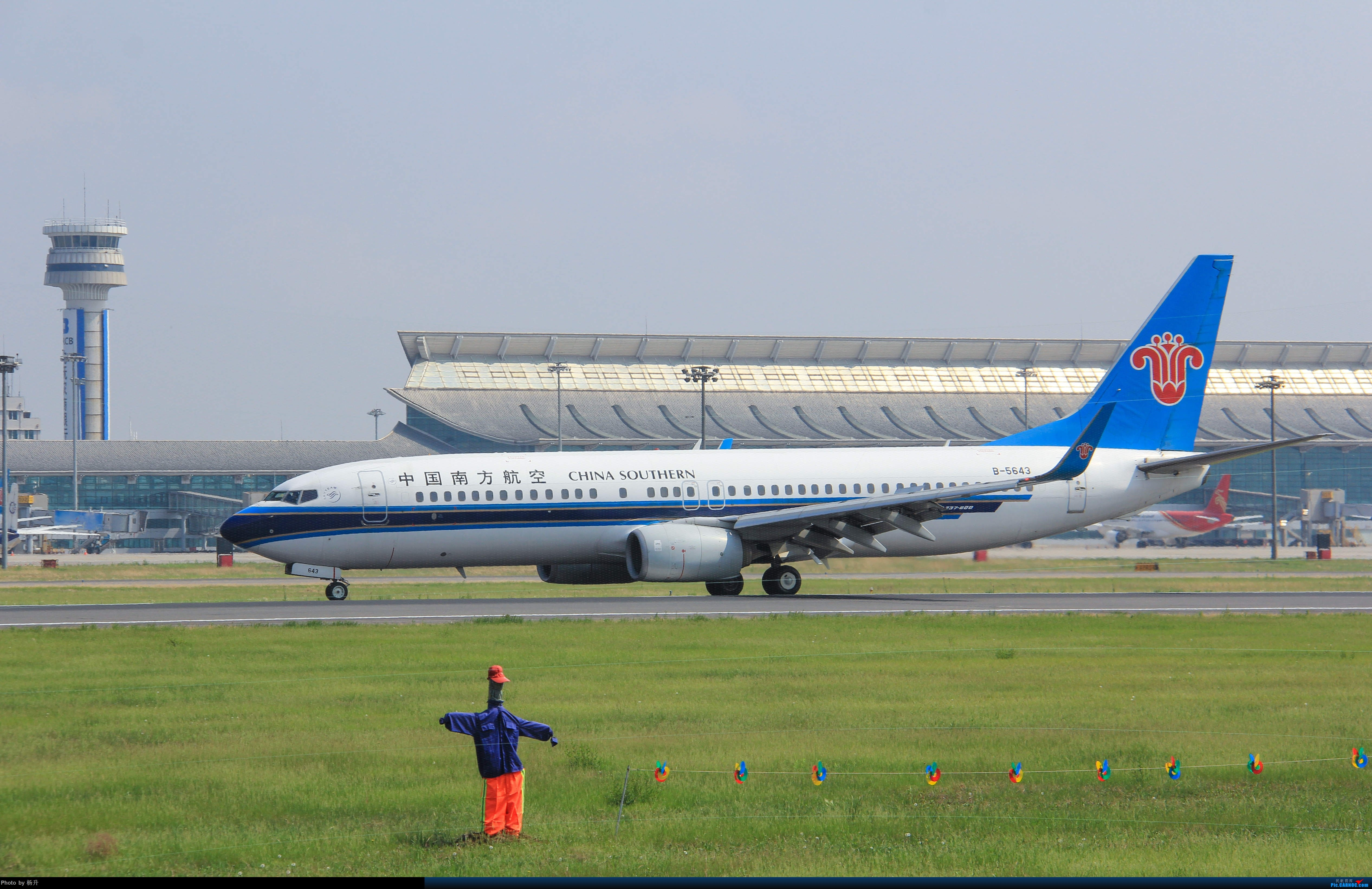Re:[原创]【SHE】新人沈阳桃仙拍机首发 BOEING 737-800 B-5643 中国沈阳桃仙国际机场
