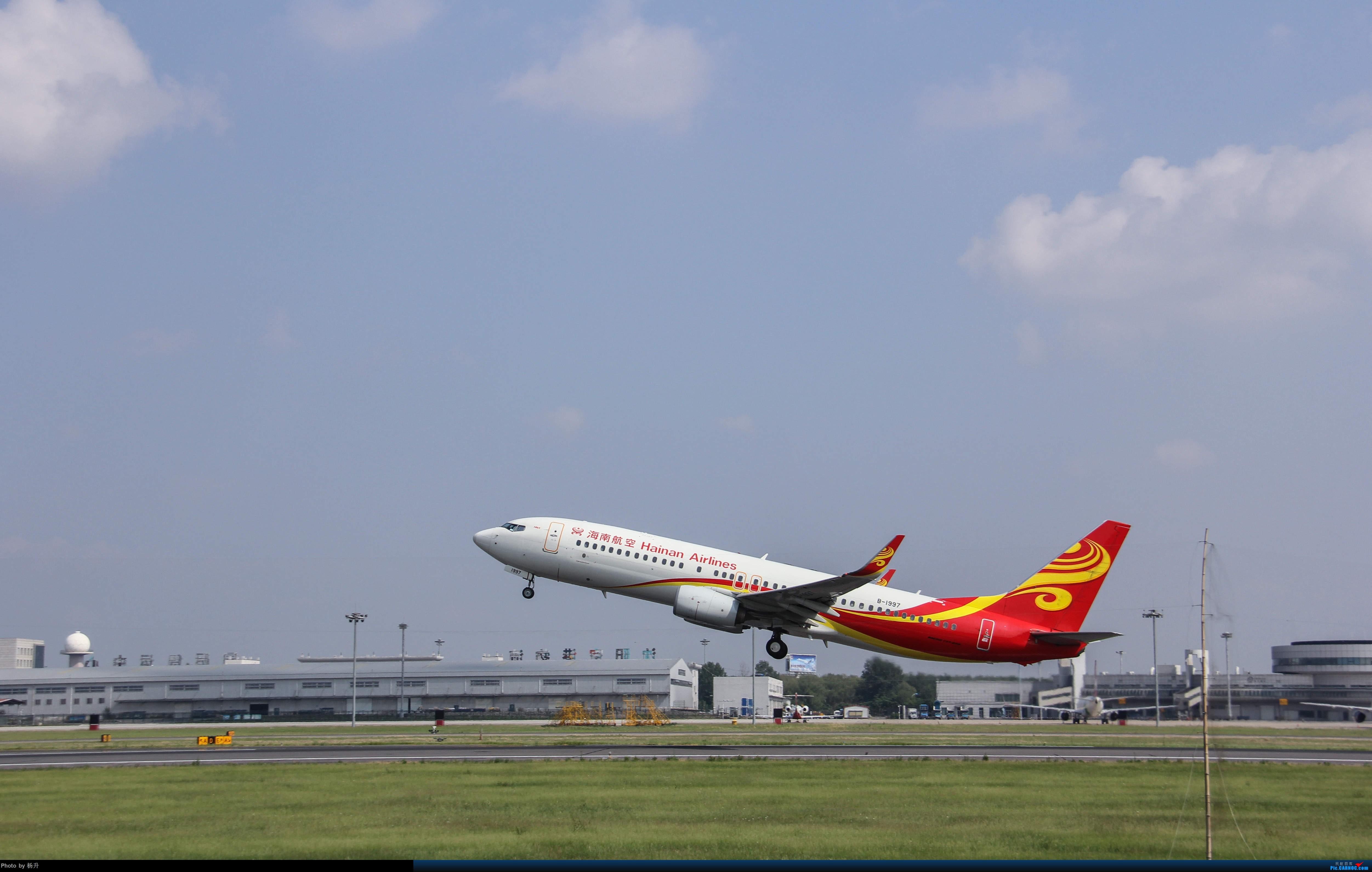 Re:[原创]【SHE】新人沈阳桃仙17拍机首发 BOEING 737-800 B-1997 中国沈阳桃仙国际机场