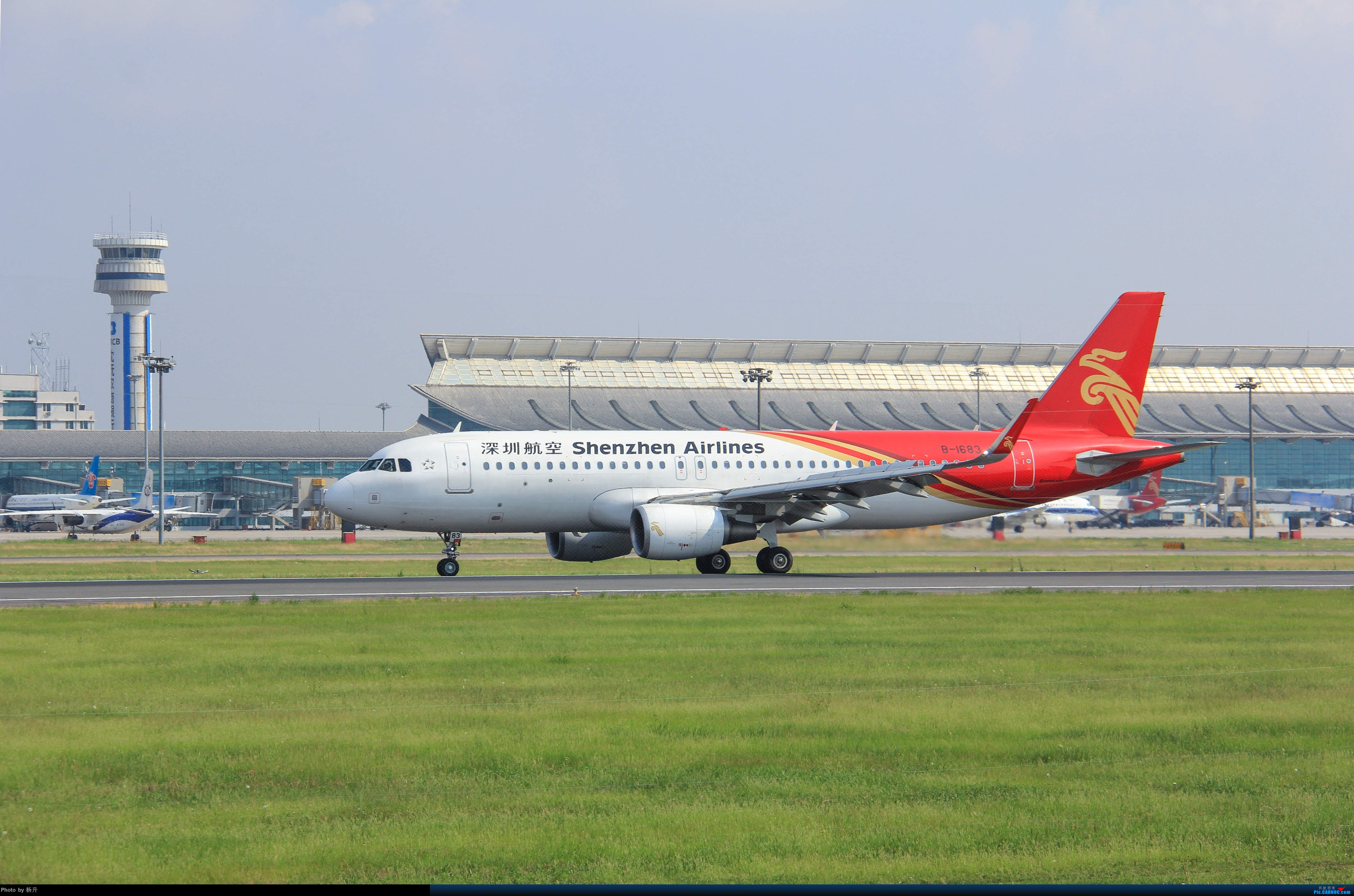 Re:[原创]【SHE】新人沈阳桃仙17拍机首发 AIRBUS A320-200 B-1683 中国沈阳桃仙国际机场