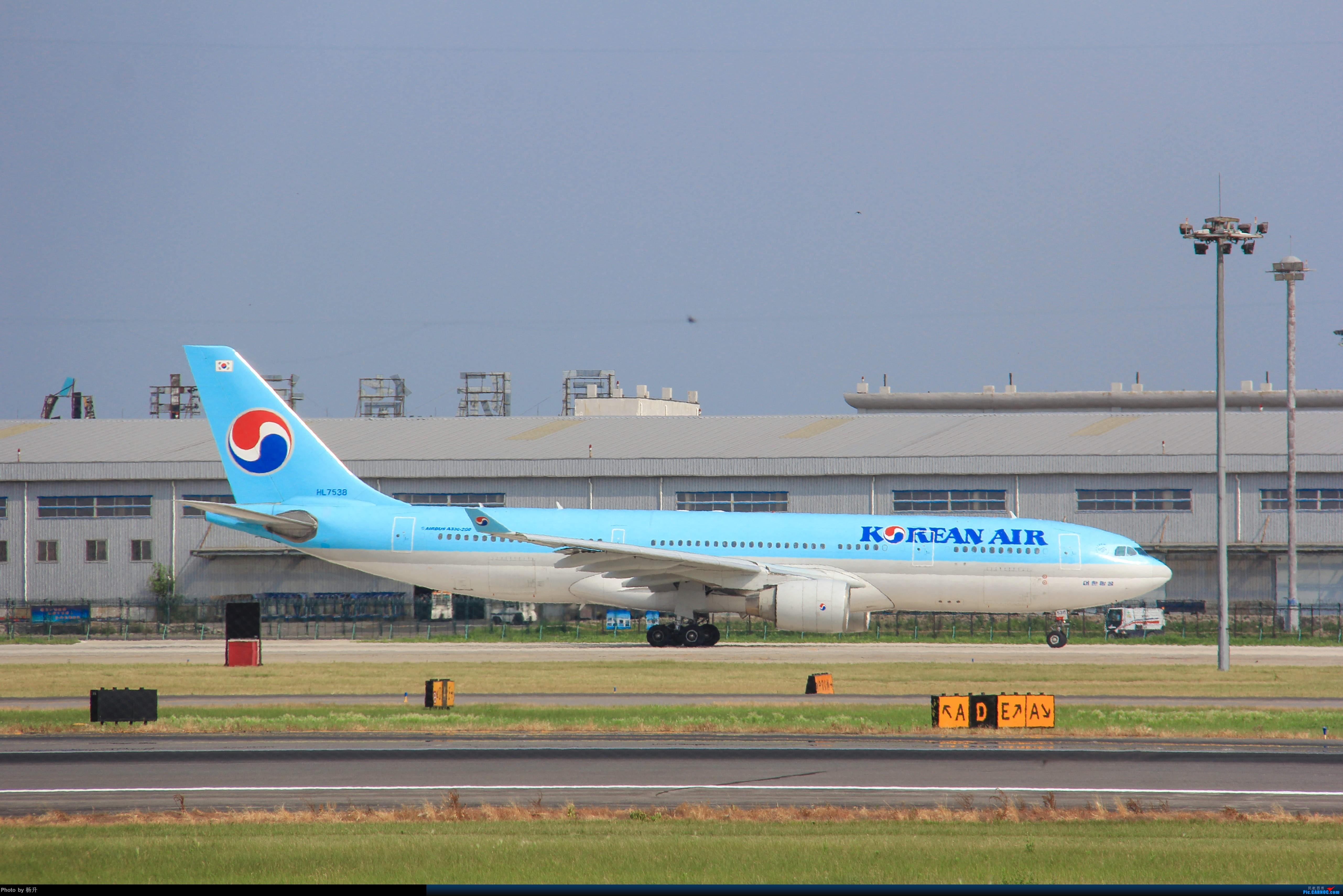 Re:[原创]【SHE】新人沈阳桃仙17拍机首发 AIRBUS A330-200 HL-7721 中国沈阳桃仙国际机场