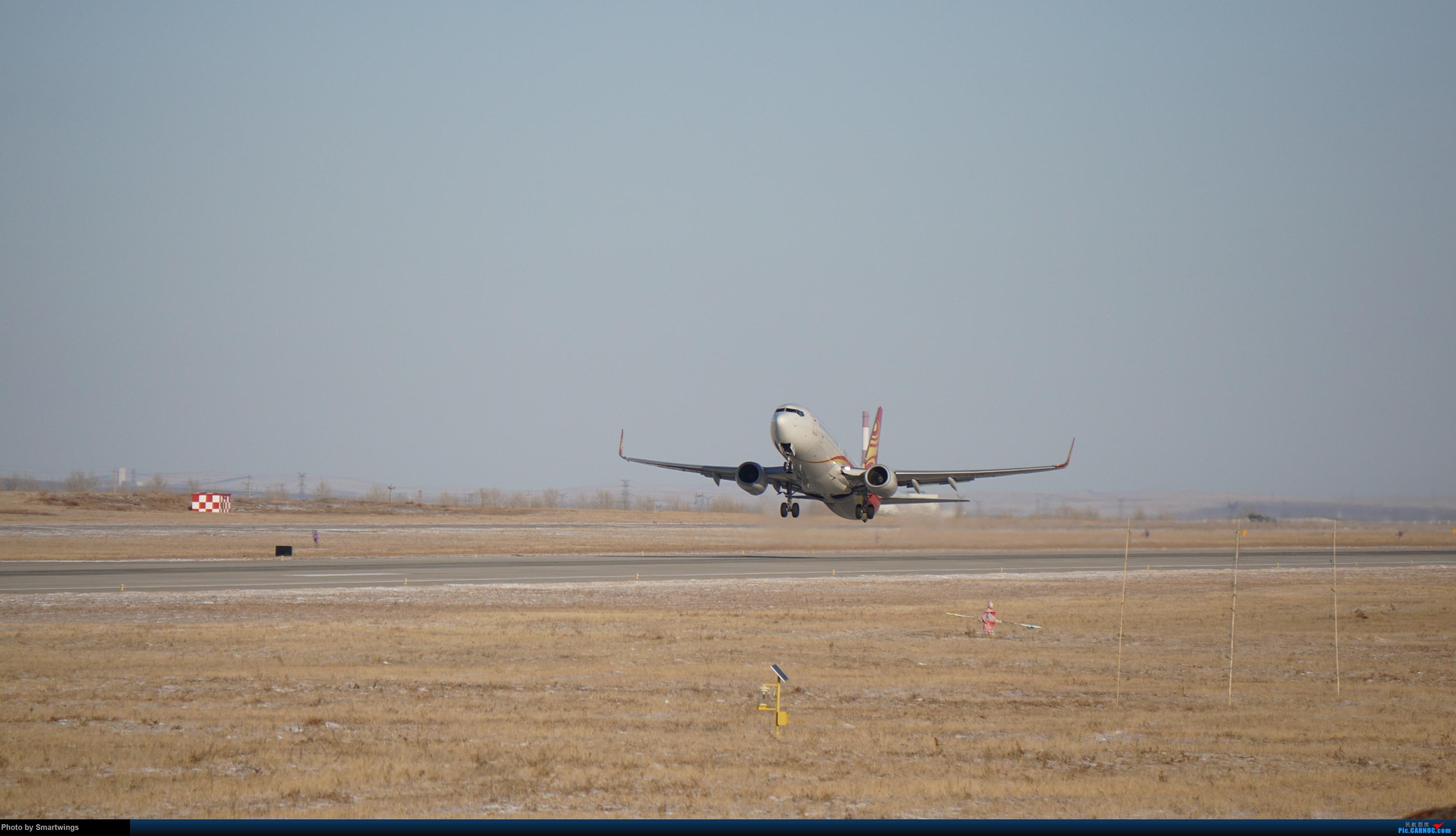 Re:[原创]呼伦贝尔机场冬日午后 BOEING 737-800 B-1571 中国海拉尔东山机场