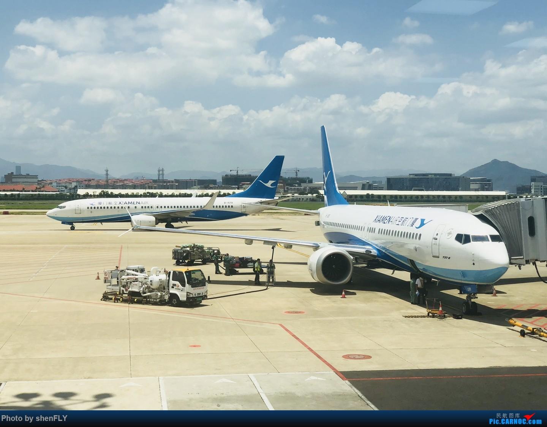 Re:[原创]【B737-8M】蓝天白云中体验厦航737MAX8 NKG-XMN 有起降高清视频 BOEING 737MAX-8 B-1289 中国厦门高崎国际机场