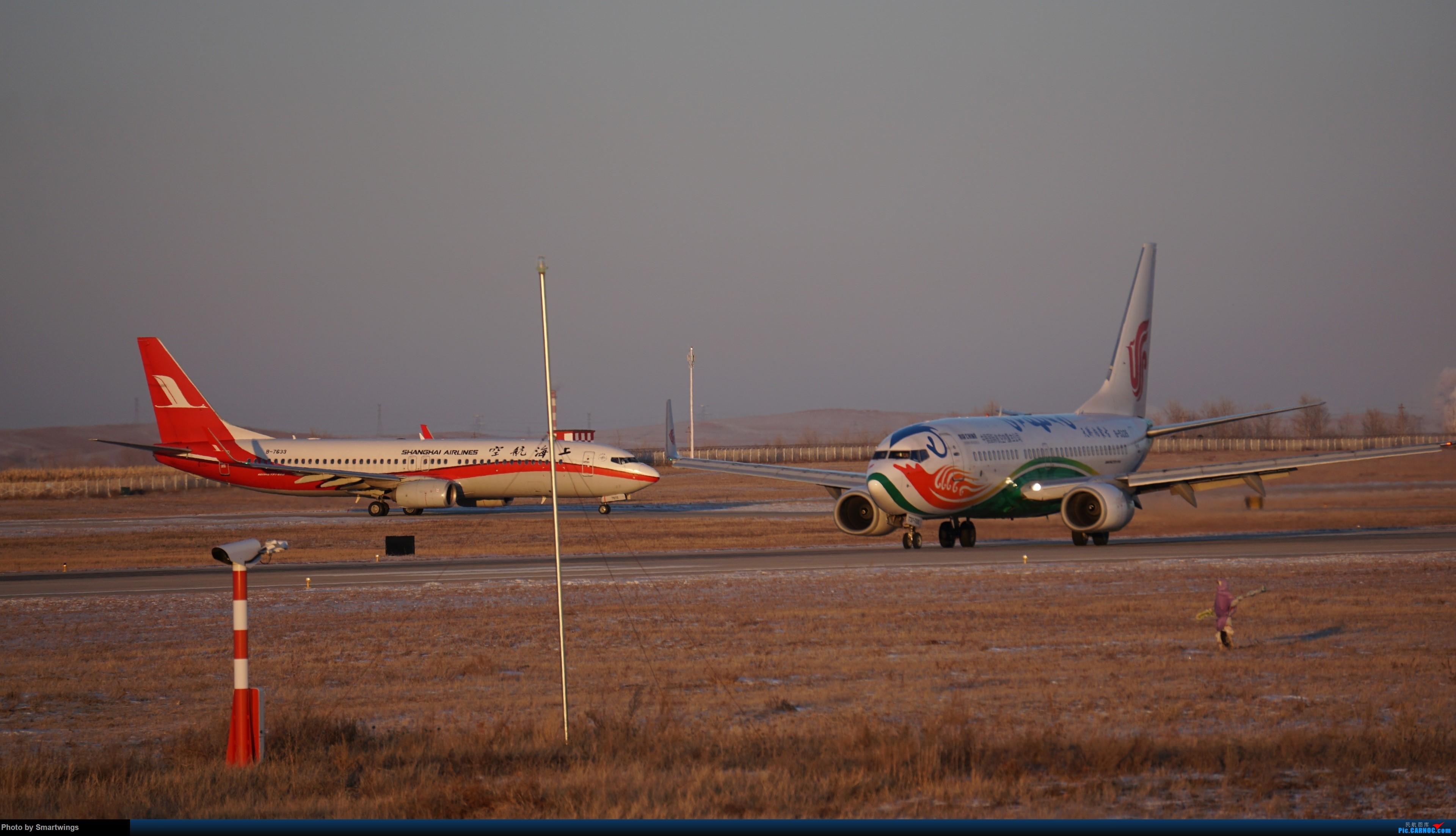 Re:[原创]呼伦贝尔机场冬日午后 BOEING 737-700 B-5226 中国海拉尔东山机场