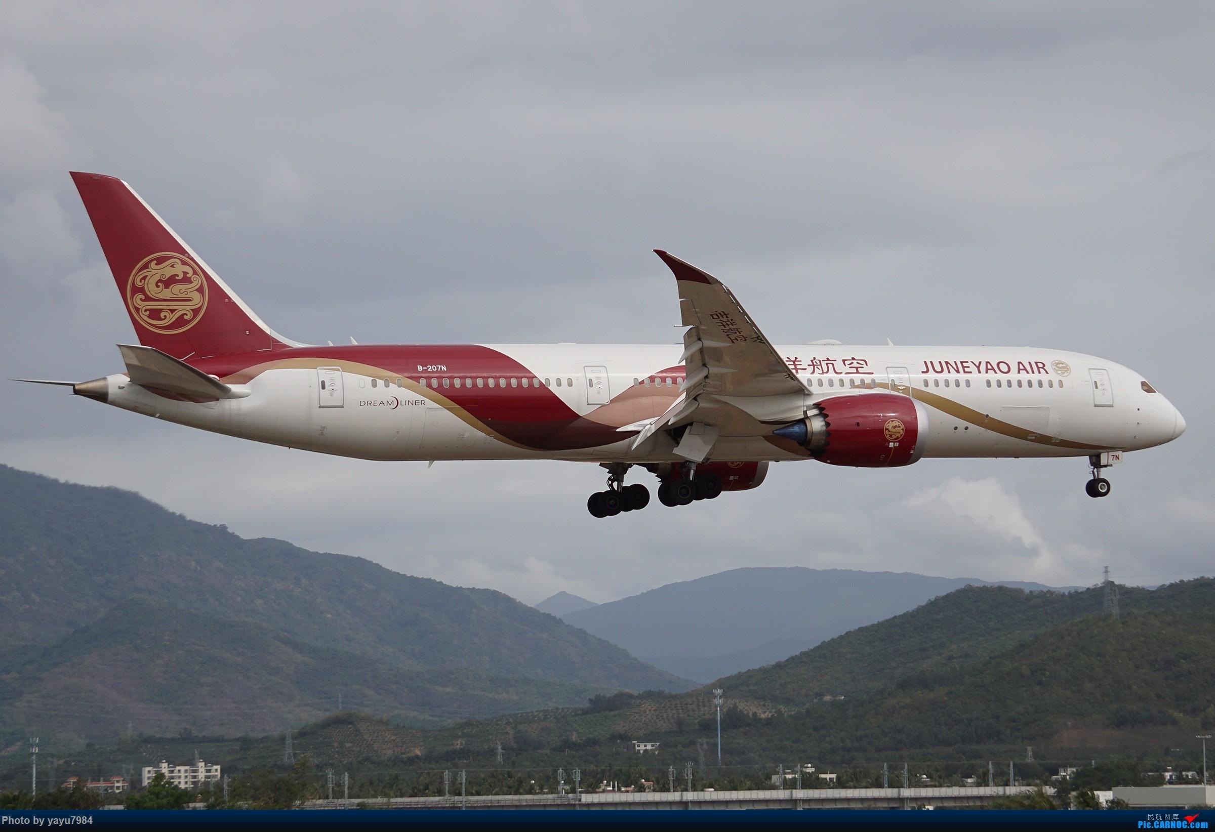 Re:[原创][SYX] 回国首拍,春运高峰时段的三亚凤凰国际机场 BOEING 787-9 B-207N 中国三亚凤凰国际机场