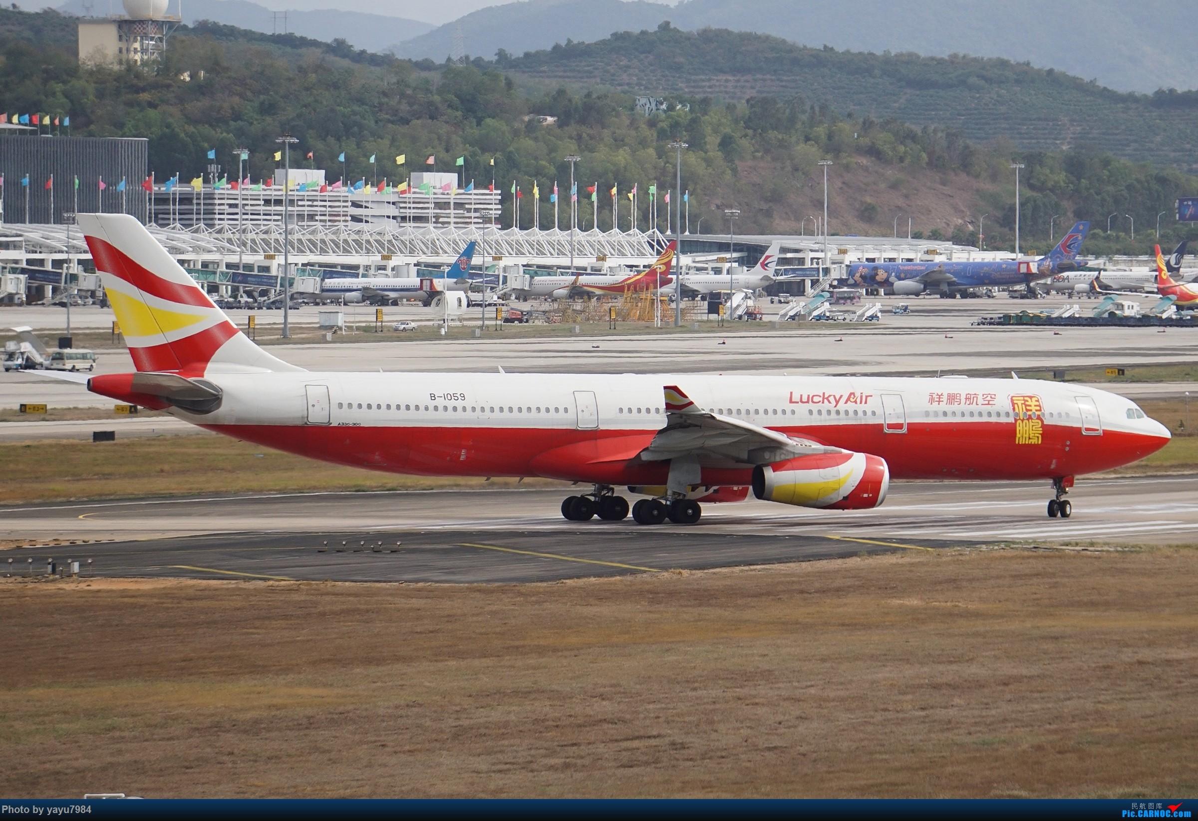 Re:[原创][SYX] 回国首拍,春运高峰时段的三亚凤凰国际机场 AIRBUS A330-300 B-1059 中国三亚凤凰国际机场