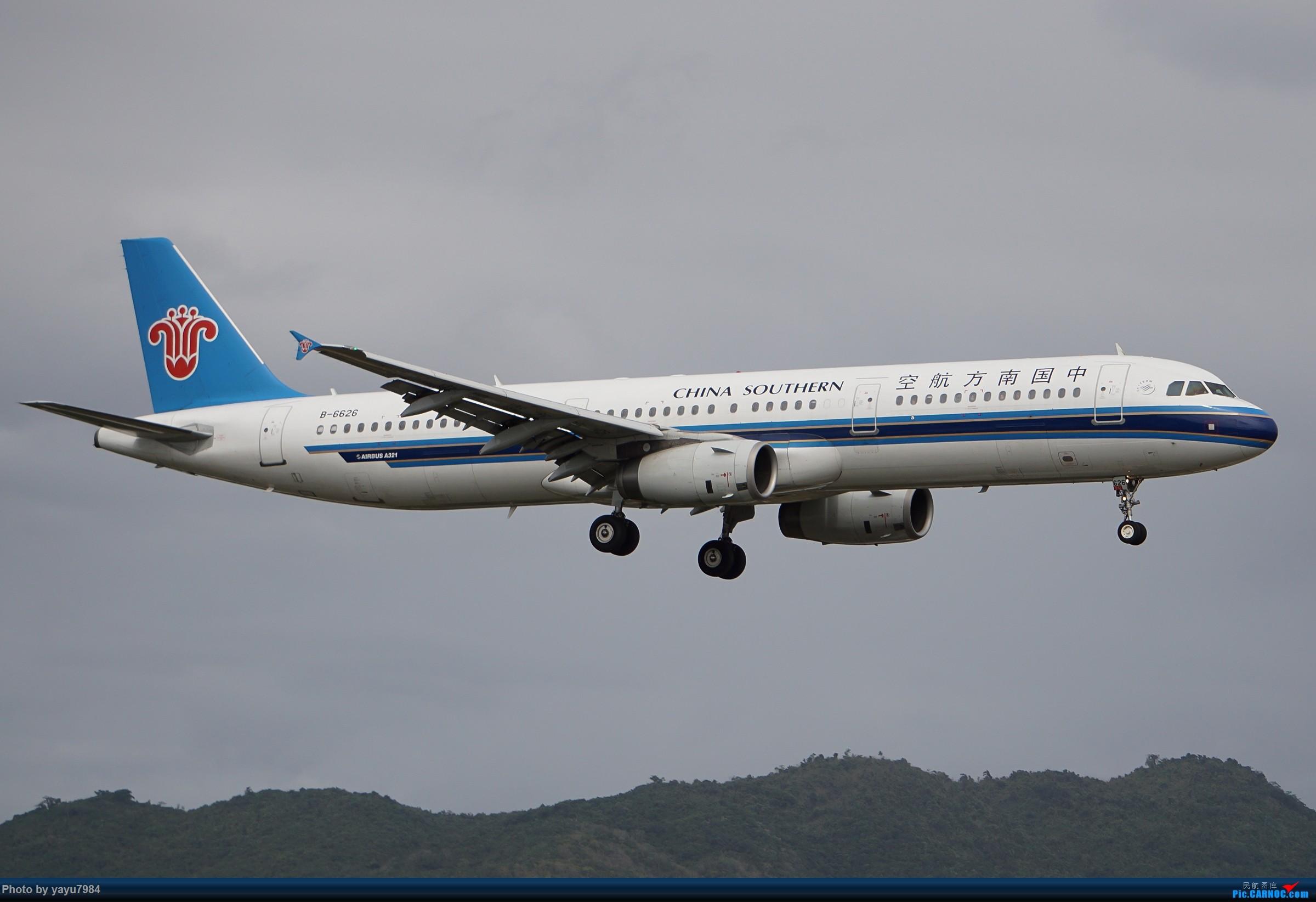 Re:[原创][SYX] 回国首拍,春运高峰时段的三亚凤凰国际机场 AIRBUS A321-200 B-6626 中国三亚凤凰国际机场